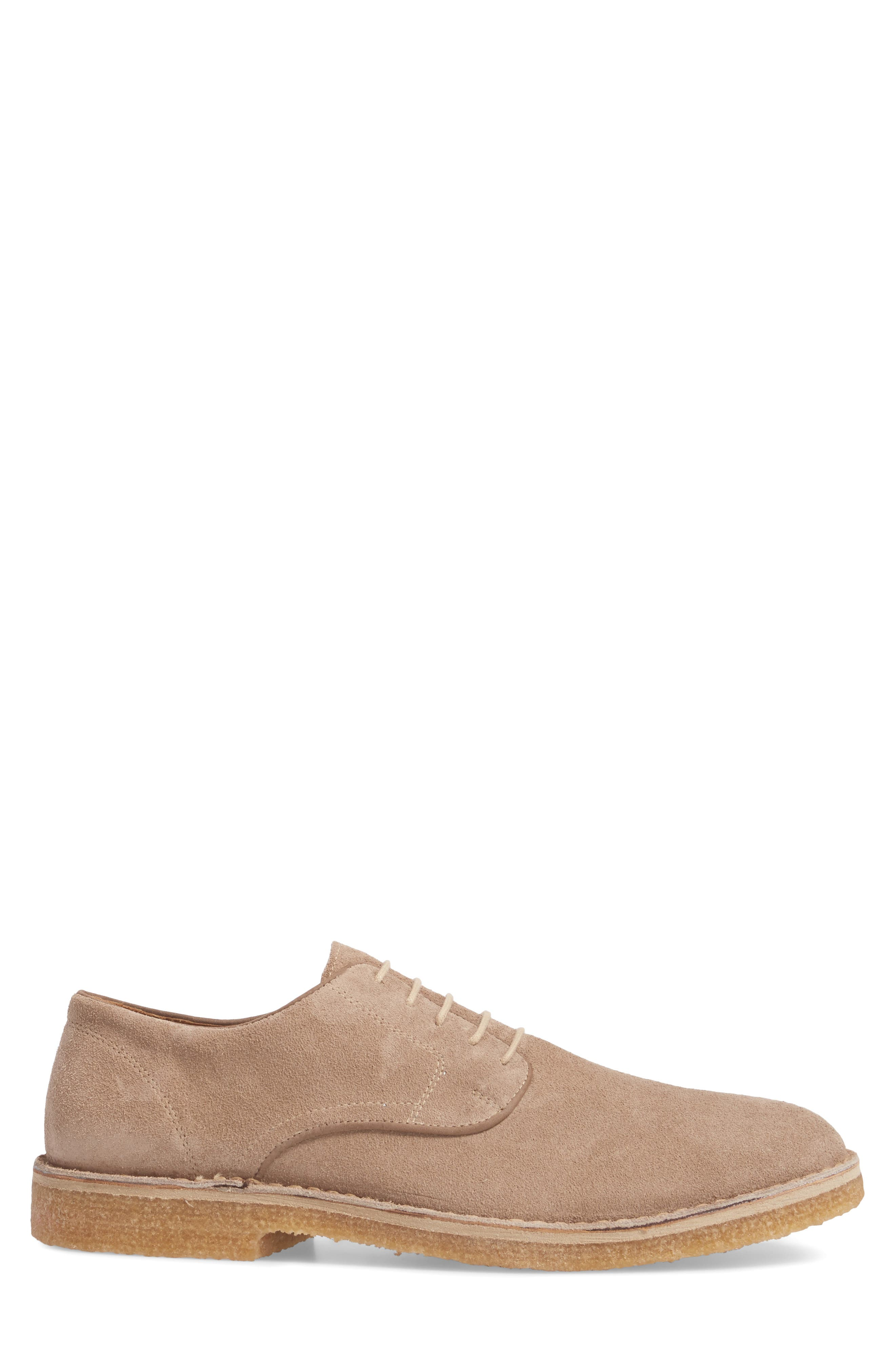 Crescent Buck Shoe,                             Alternate thumbnail 3, color,                             TAN SUEDE