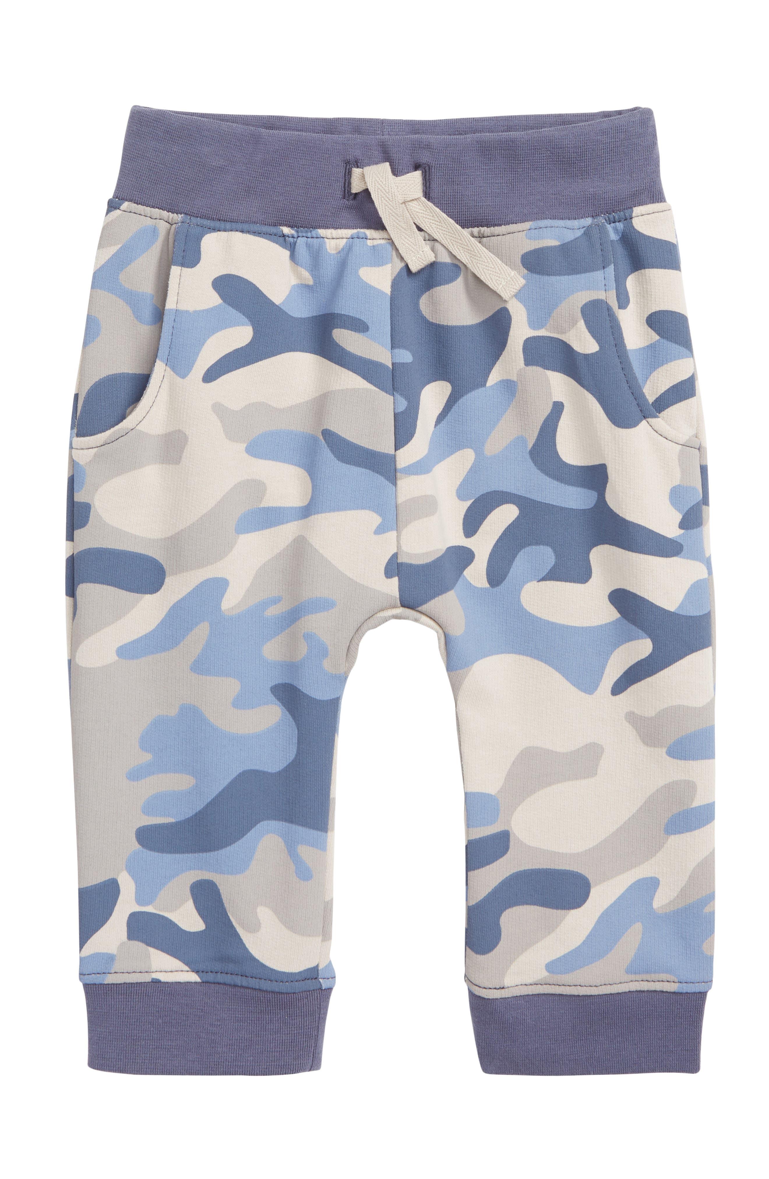 Peek Camo Print Knit Joggers,                         Main,                         color, BLUE