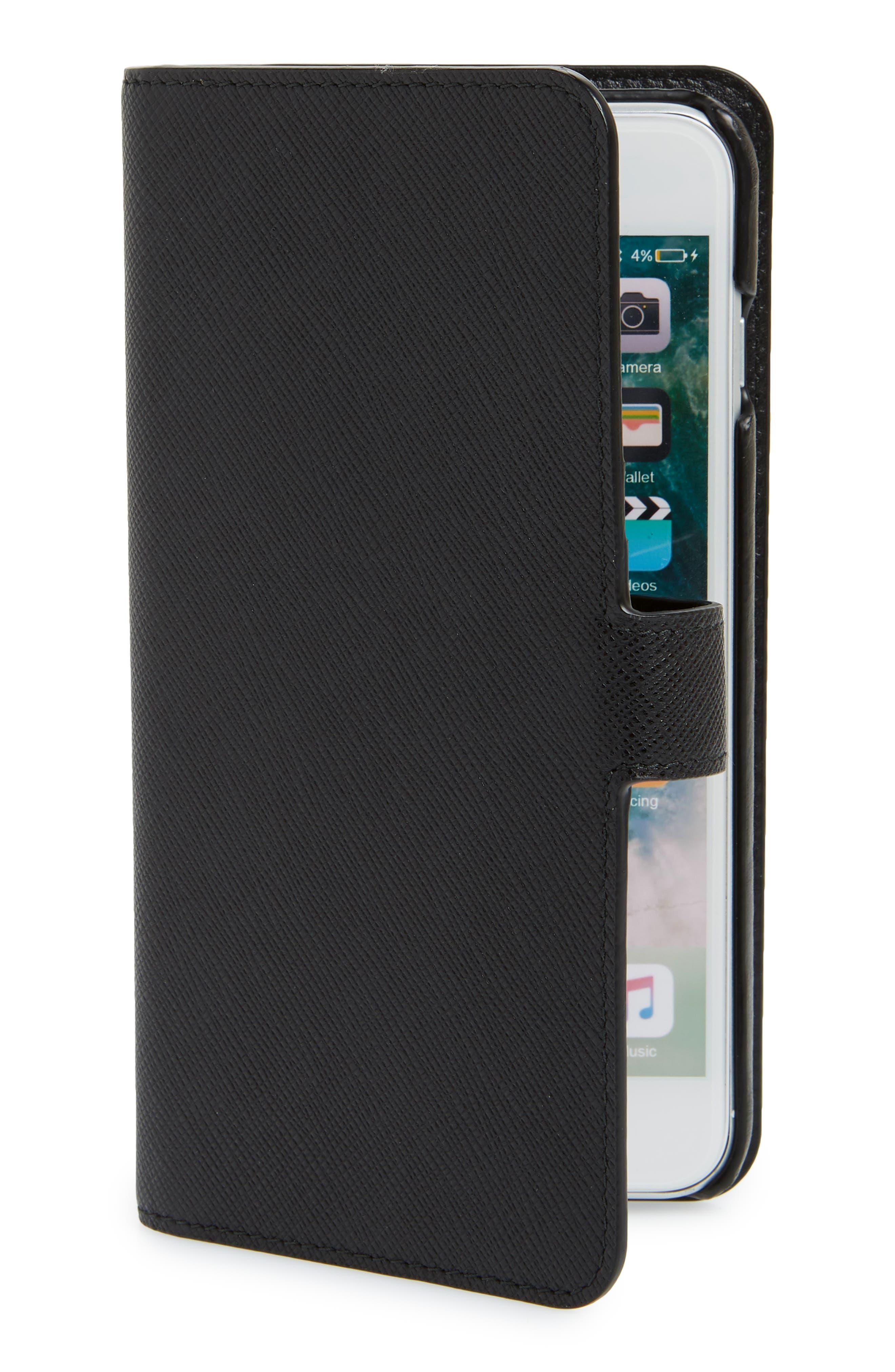 Saffiano iPhone 8 Wallet,                         Main,                         color,