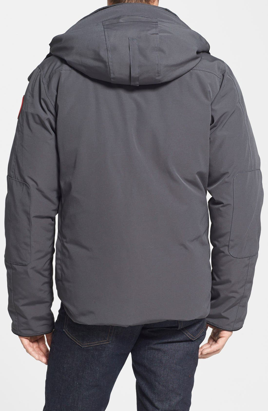 'Selkirk' Slim Fit Water Resistant Down Parka with Detachable Hood,                             Alternate thumbnail 6, color,