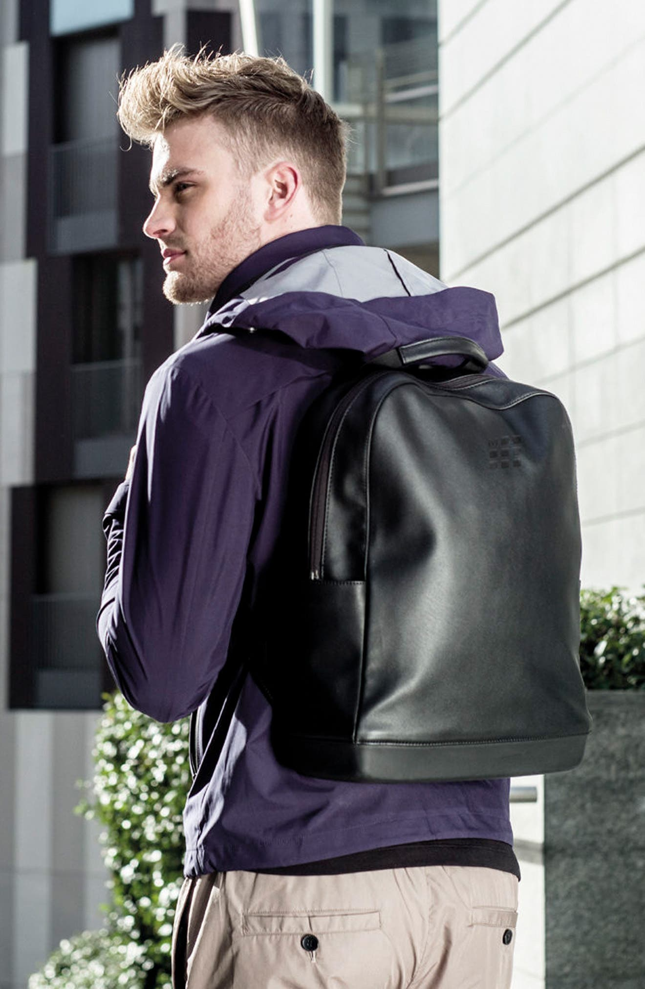 Classic Backpack,                             Alternate thumbnail 6, color,                             BLACK