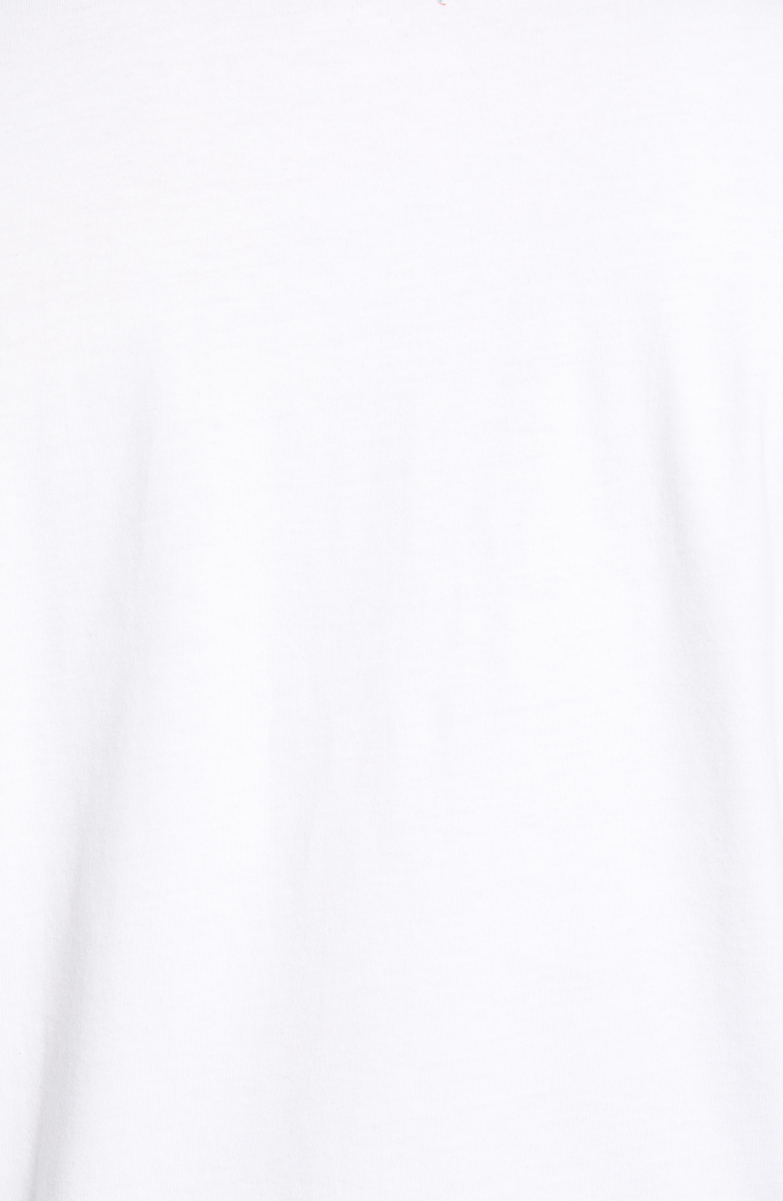 Is Mai Tai on Straight? T-Shirt,                             Alternate thumbnail 5, color,                             WHITE