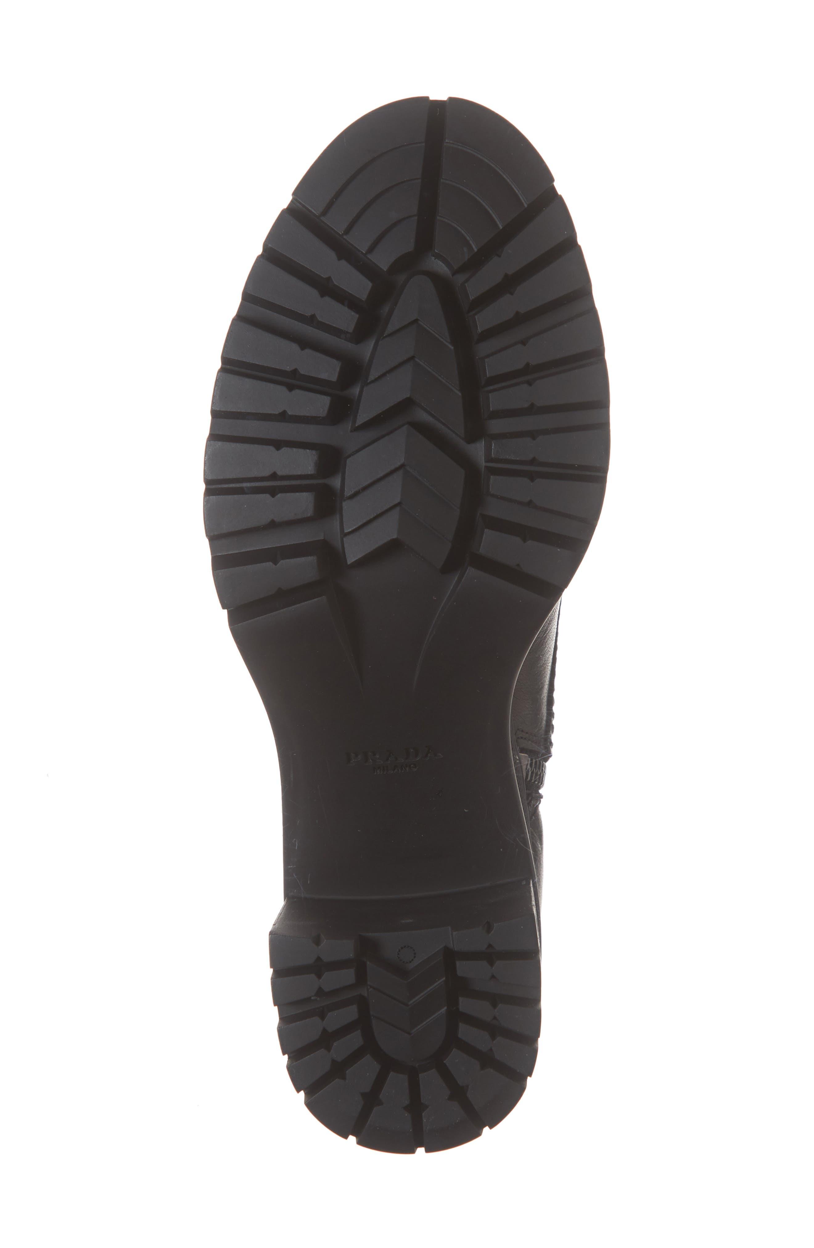 Block Heel Combat Boot,                             Alternate thumbnail 6, color,