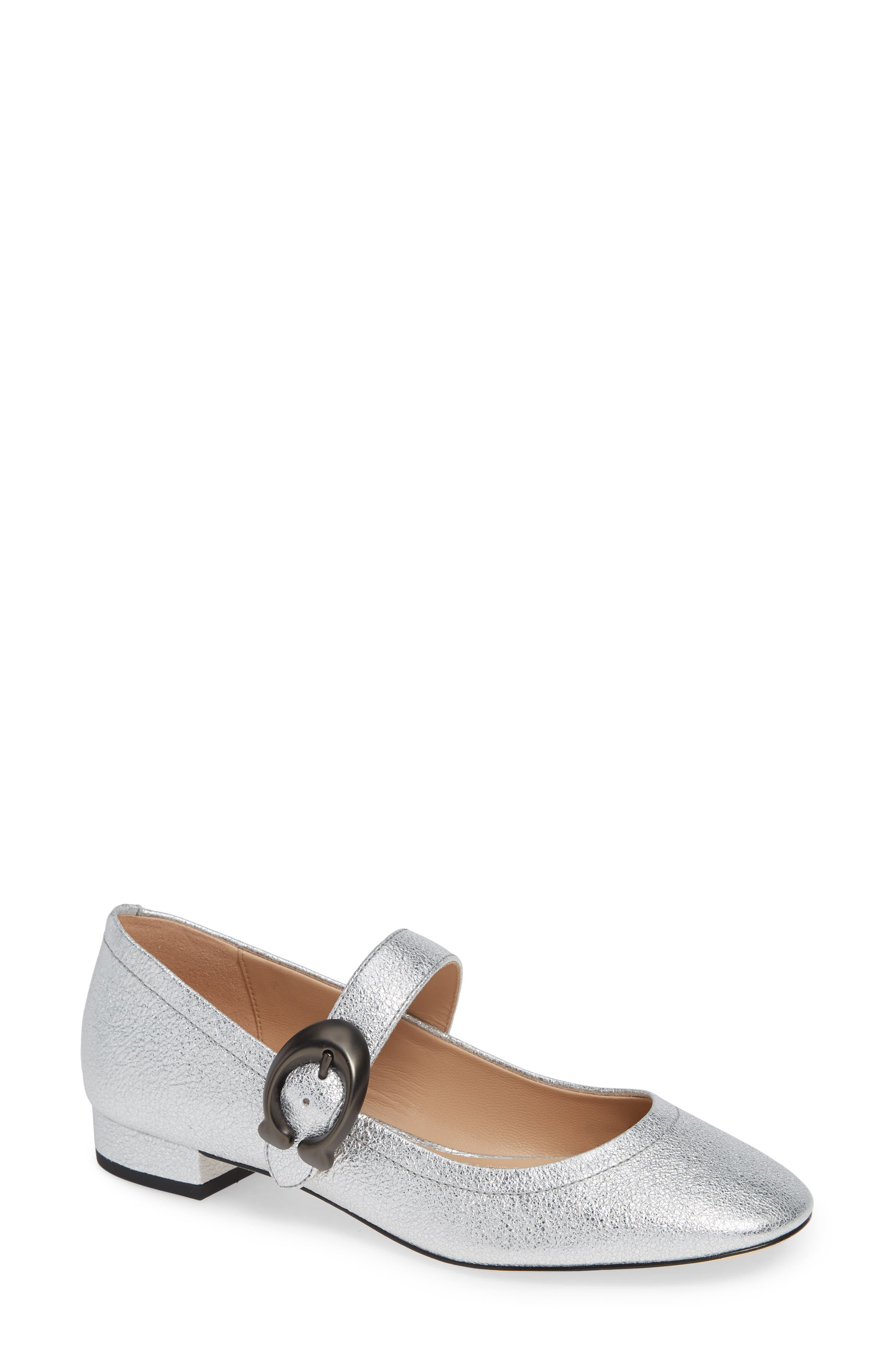 Lexi Mary Jane,                         Main,                         color, SILVER LEATHER