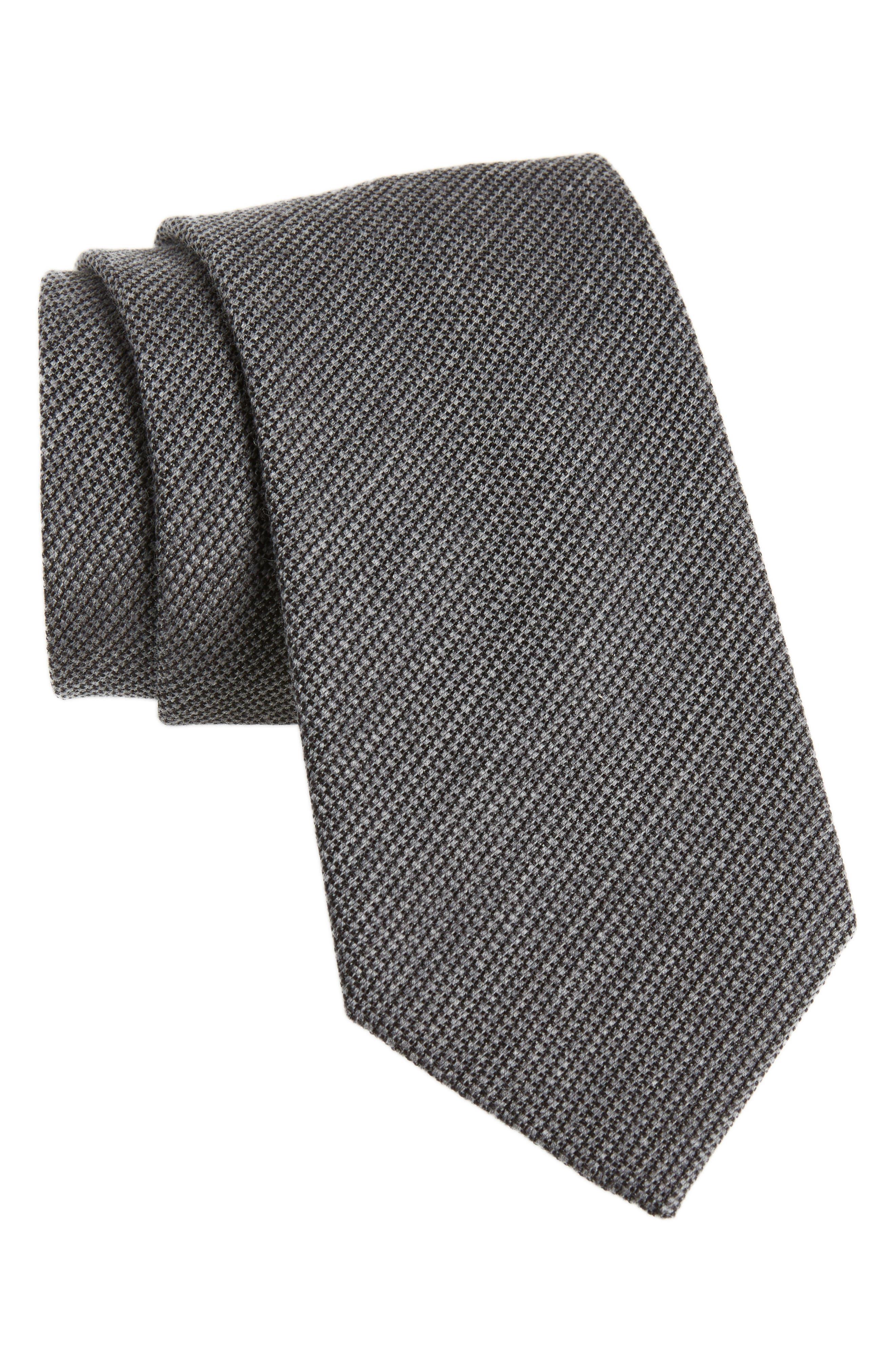 Wool & Silk Tie,                         Main,                         color, 032