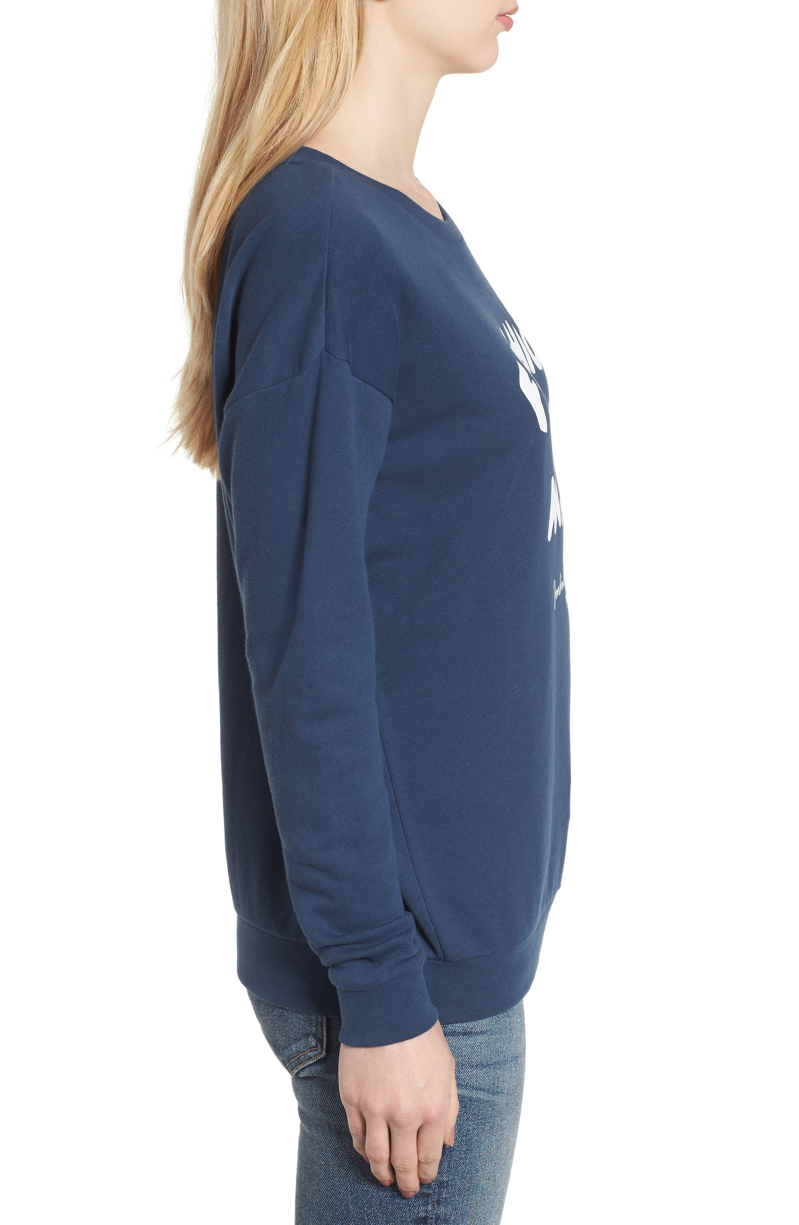 Alexa - Fashion Mafia Sweatshirt,                             Alternate thumbnail 3, color,