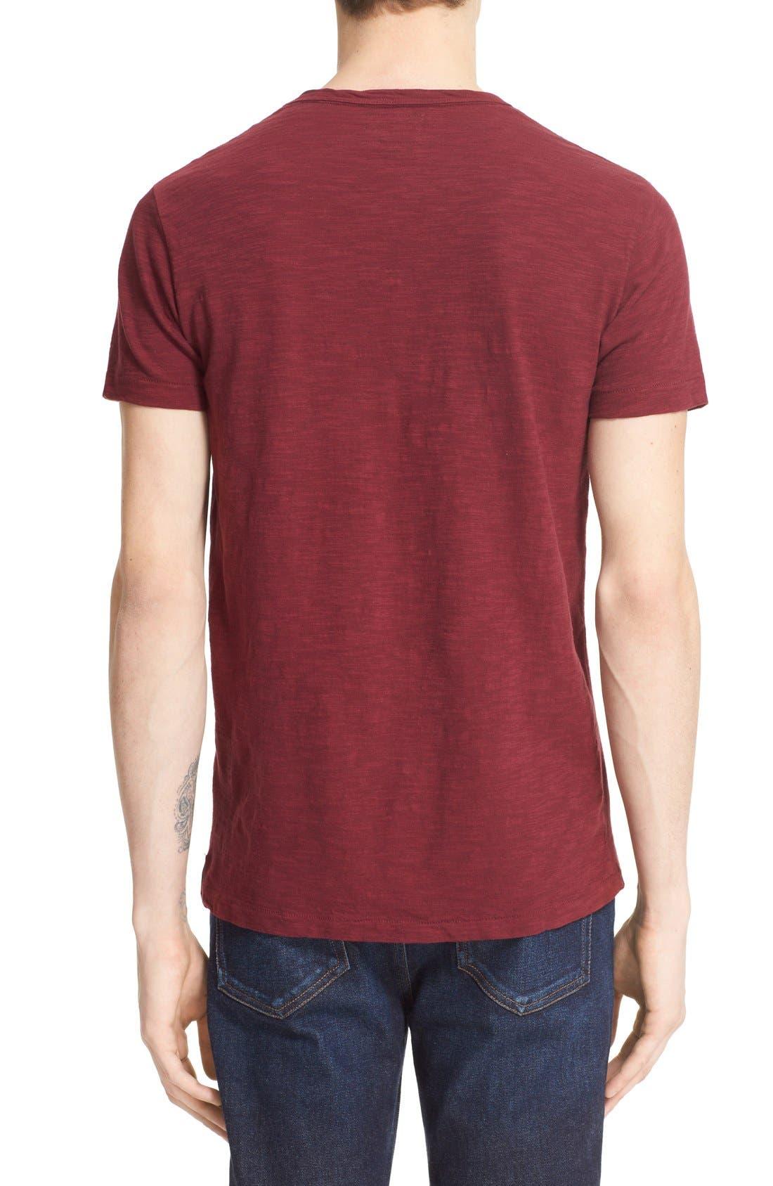 'Classic' Pocket T-Shirt,                             Alternate thumbnail 8, color,