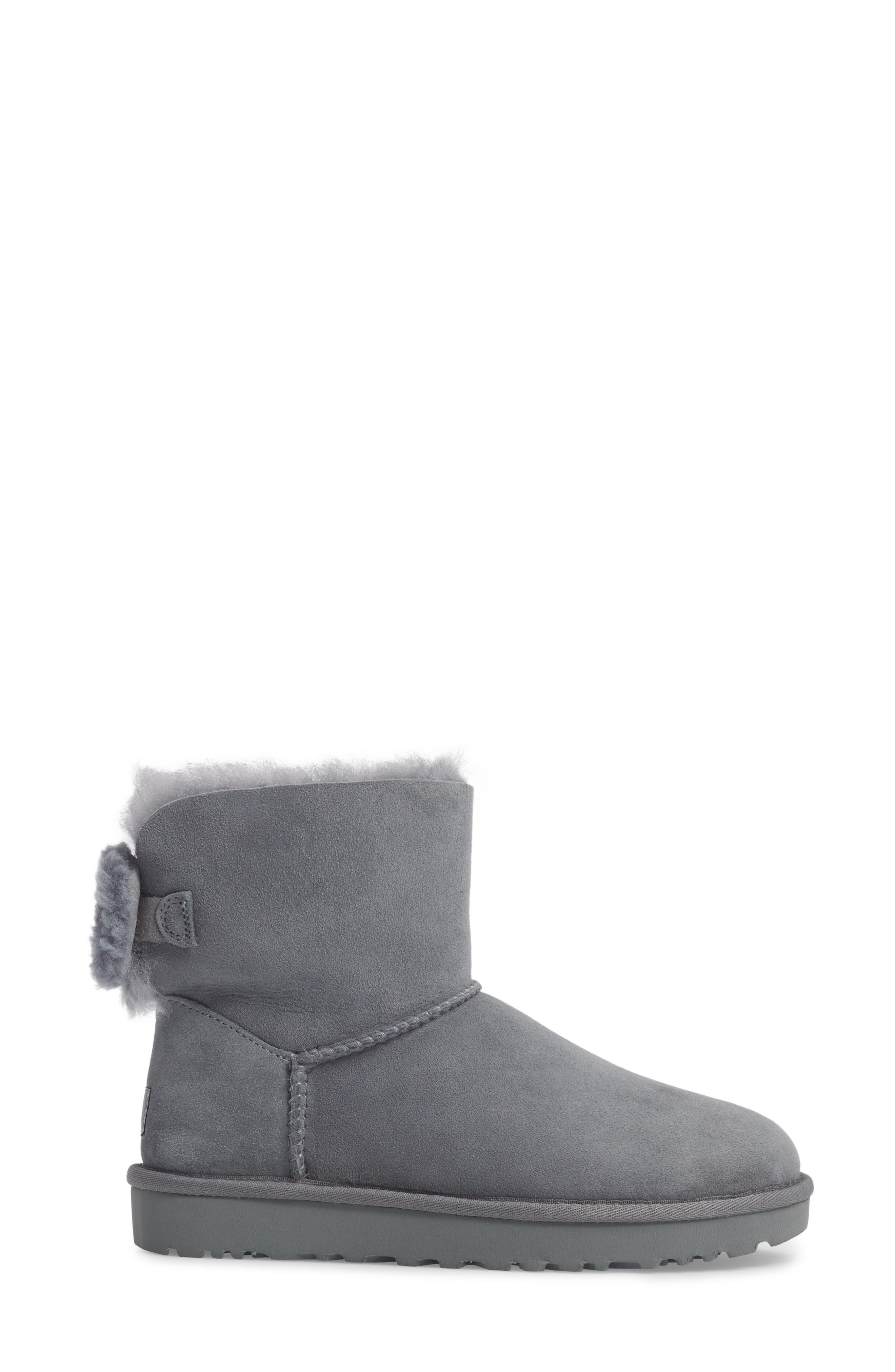 Arielle Genuine Shearling Bootie,                             Alternate thumbnail 9, color,