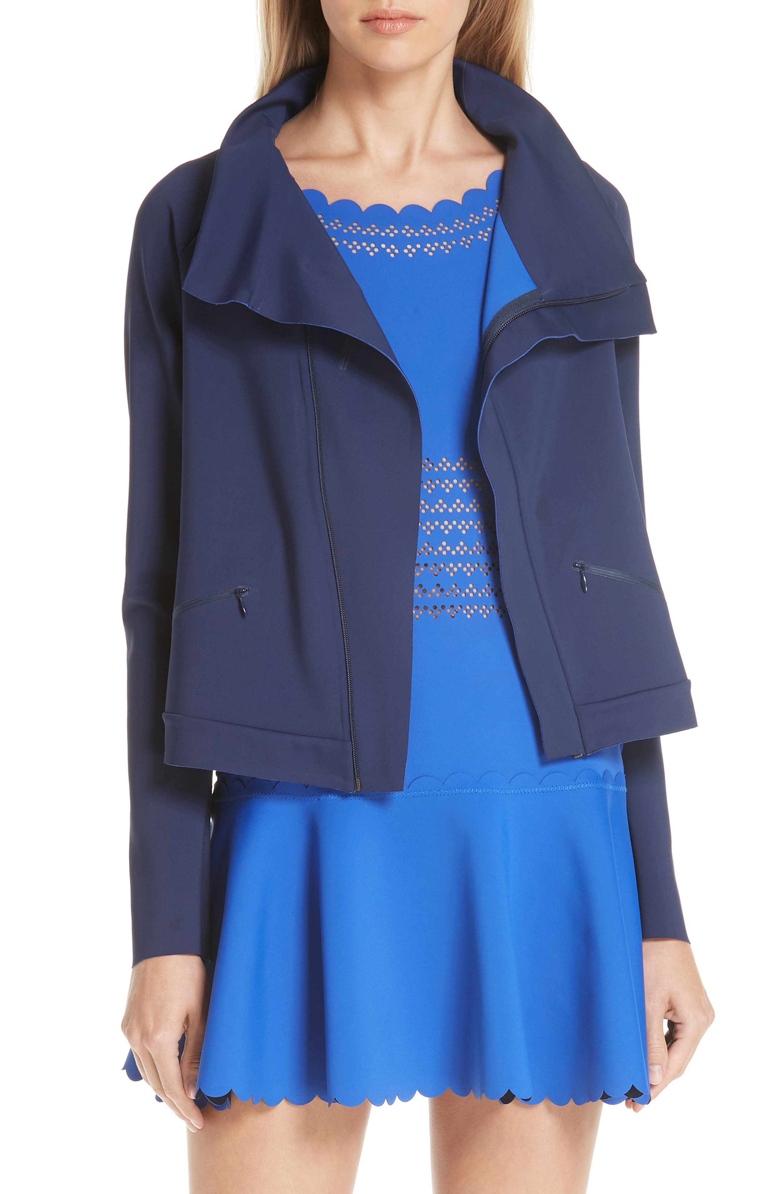 Wing Jacket,                             Main thumbnail 1, color,                             BLUE