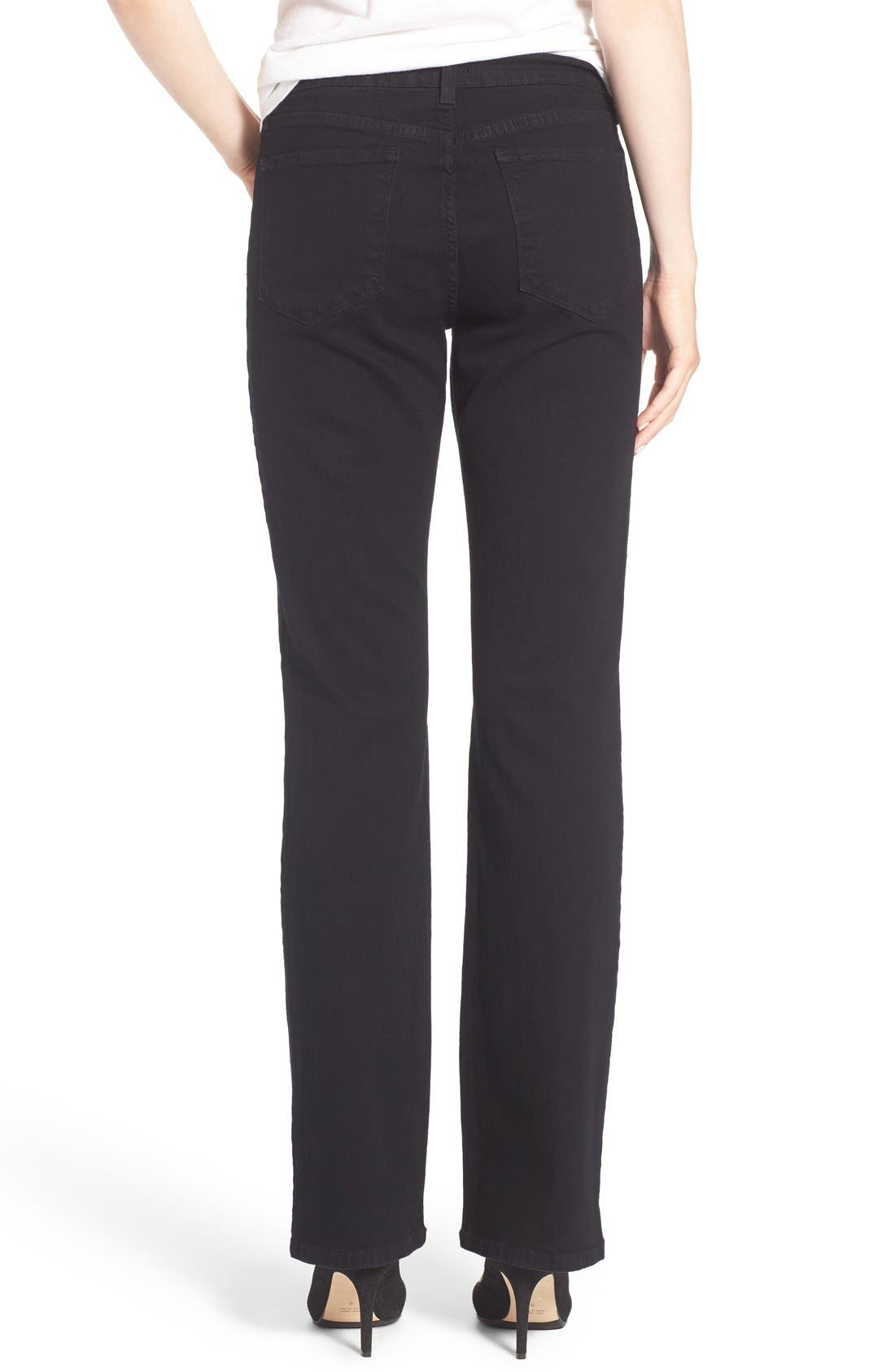 Barbara Stretch Bootcut Jeans,                             Alternate thumbnail 2, color,                             001