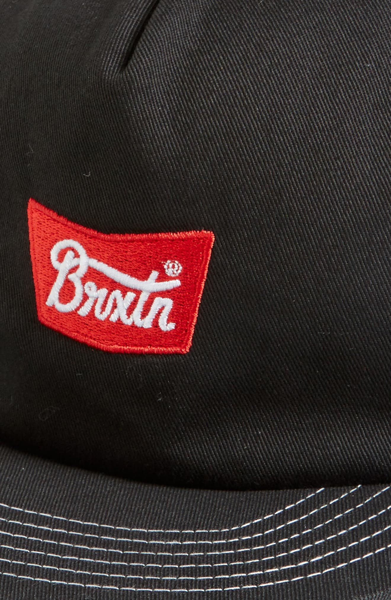 Stith Mesh Snapback Baseball Cap,                             Alternate thumbnail 3, color,                             001