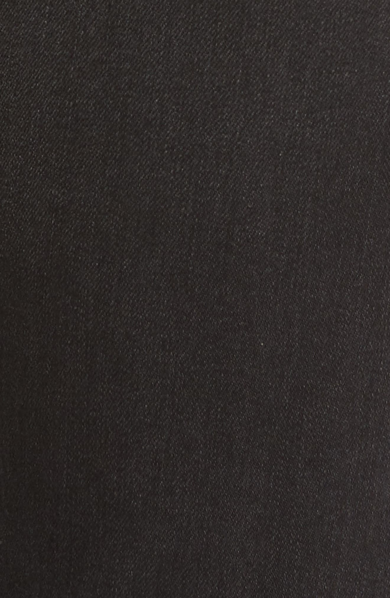 Cara Ankle Cigarette Jeans,                             Alternate thumbnail 6, color,                             004