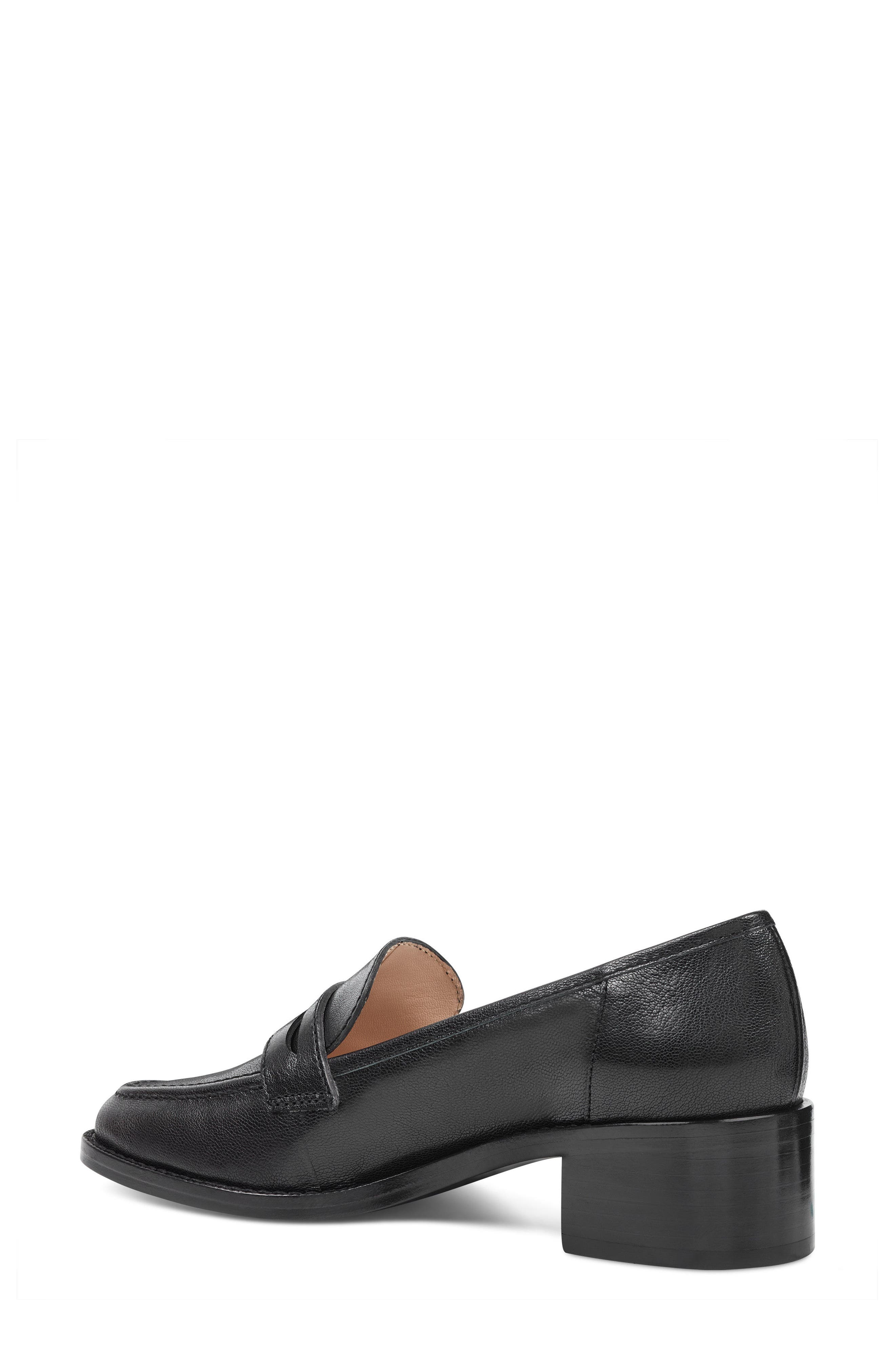 Kimmy - 40th Anniversary Capsule Collection Penny Loafer,                             Alternate thumbnail 2, color,                             BLACK LEATHER