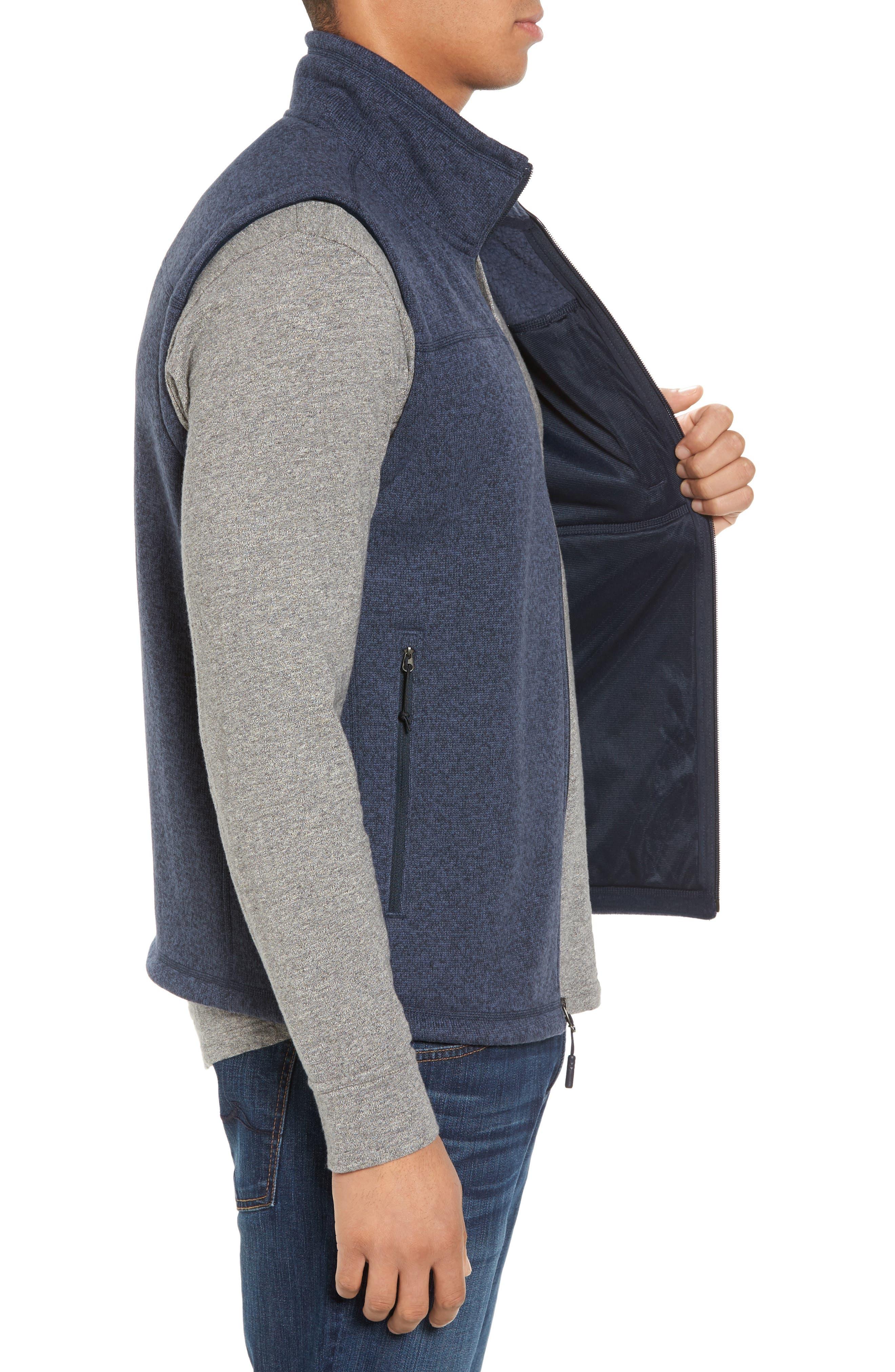 Gordon Lyons Zip Fleece Vest,                             Alternate thumbnail 15, color,