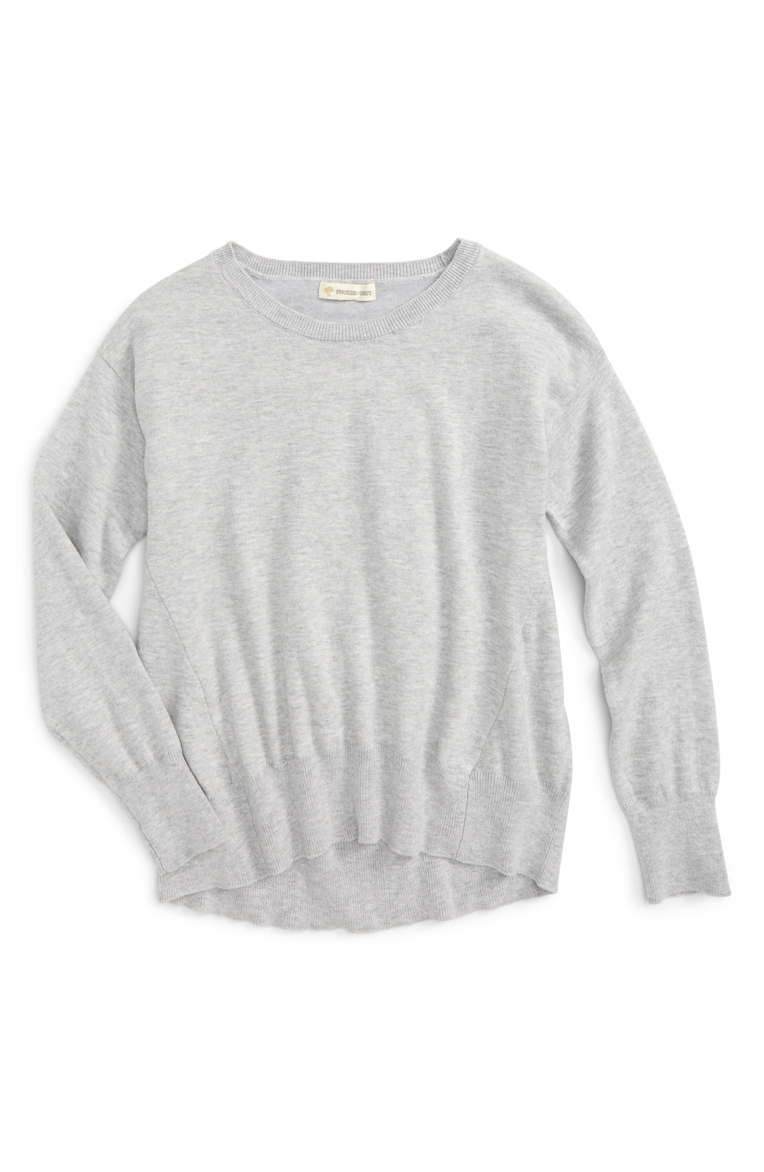 Easy Seam Knit Sweater,                             Main thumbnail 1, color,                             050