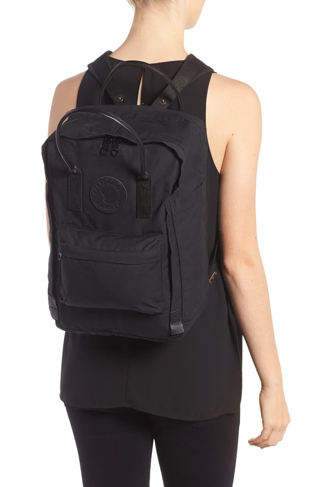 Kånken No. 2 Laptop Backpack,                             Alternate thumbnail 6, color,                             BLACK