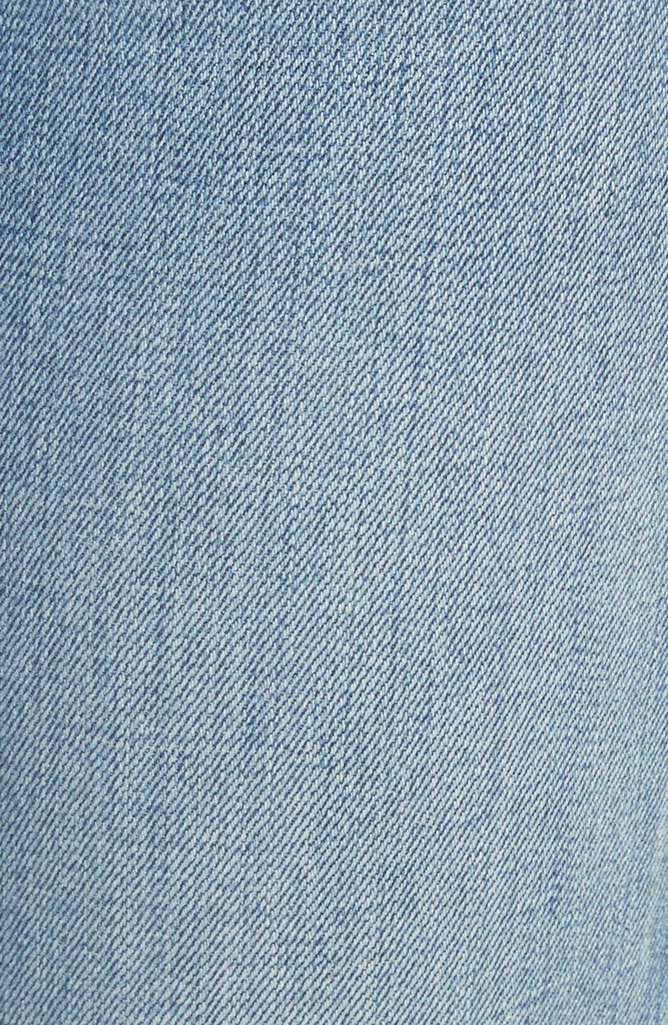 Straight Leg Jeans,                             Alternate thumbnail 6, color,                             420