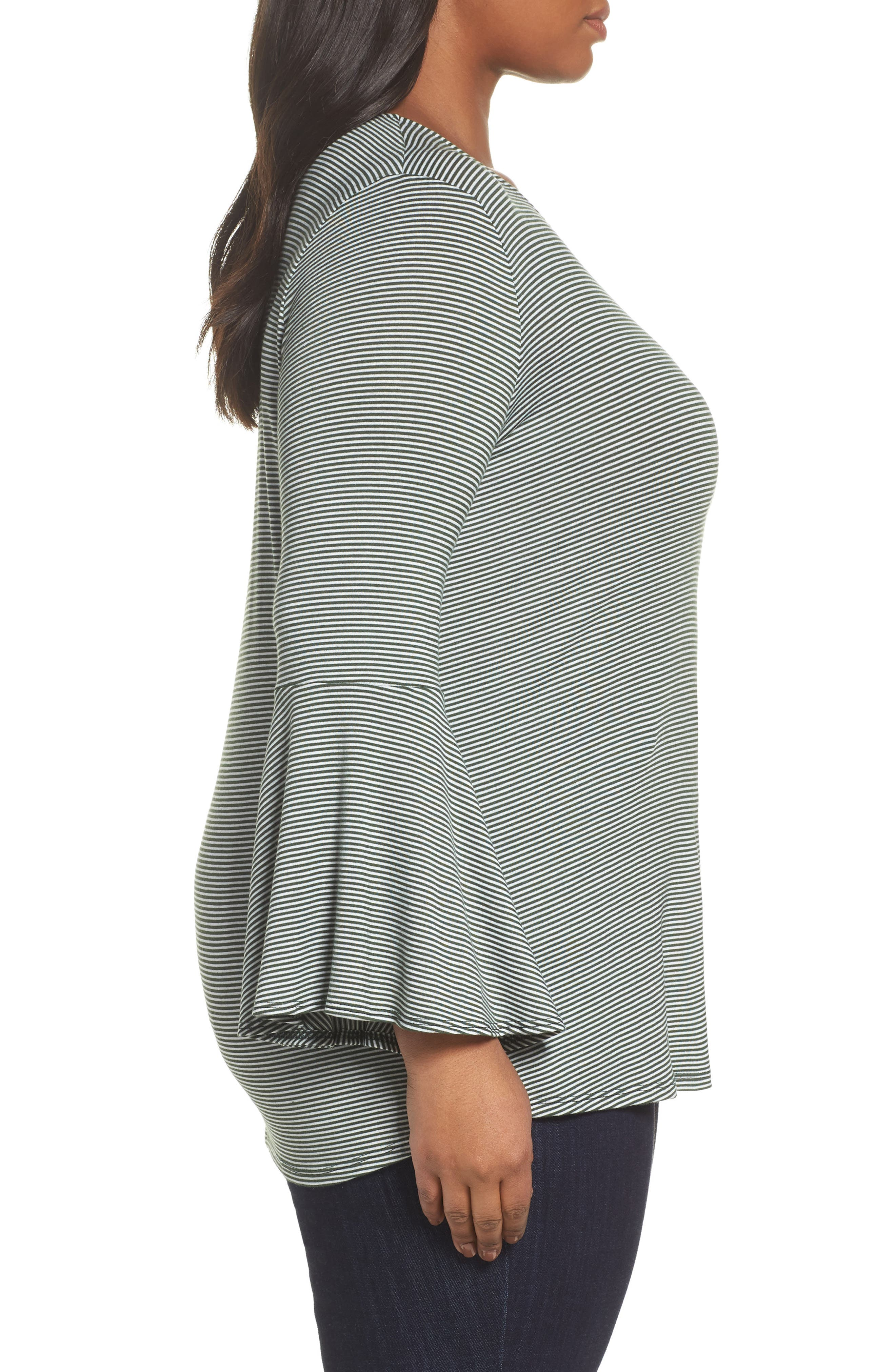 Bell Sleeve Top,                             Alternate thumbnail 9, color,