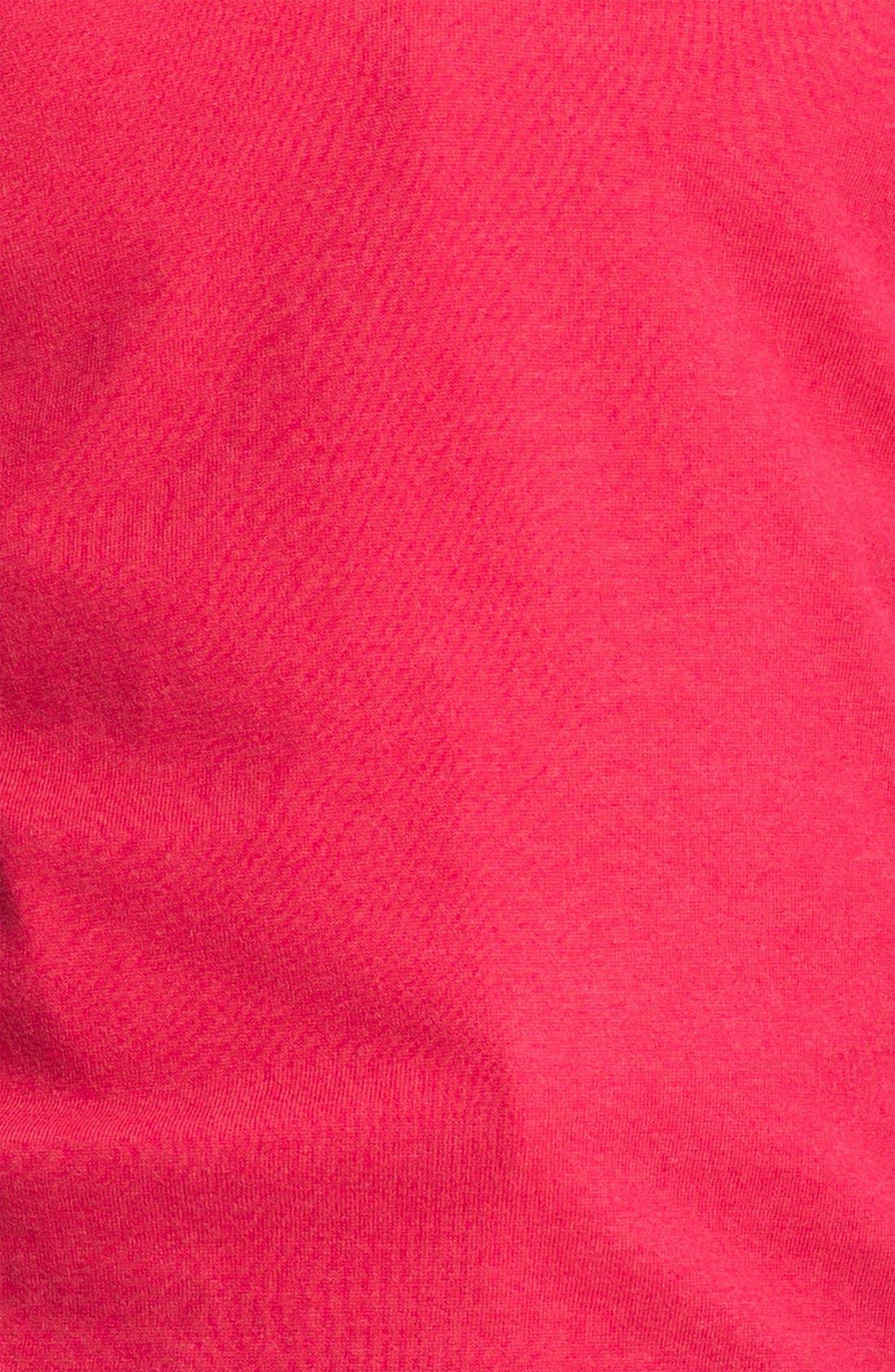 BOSS,                             Black 'Gary' V-Neck Wool Blend Sweater,                             Alternate thumbnail 3, color,                             667