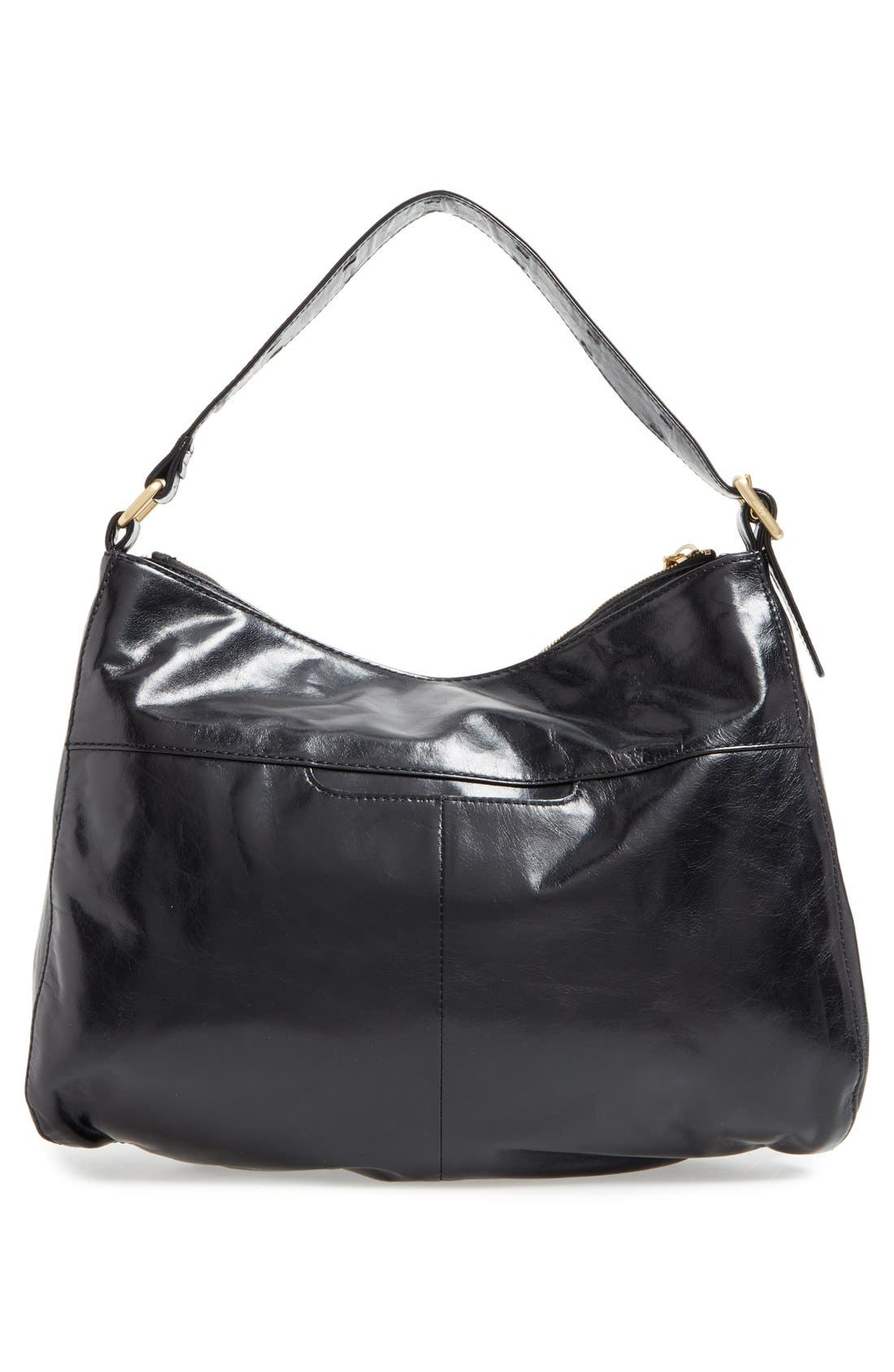 'Quincy' Leather Hobo,                             Alternate thumbnail 2, color,                             001