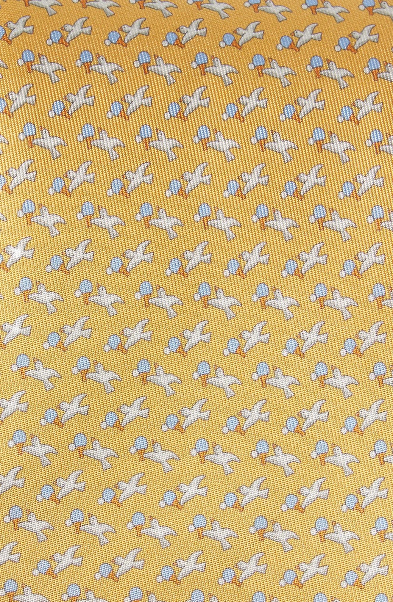 Eloise Print Silk Tie,                             Alternate thumbnail 10, color,