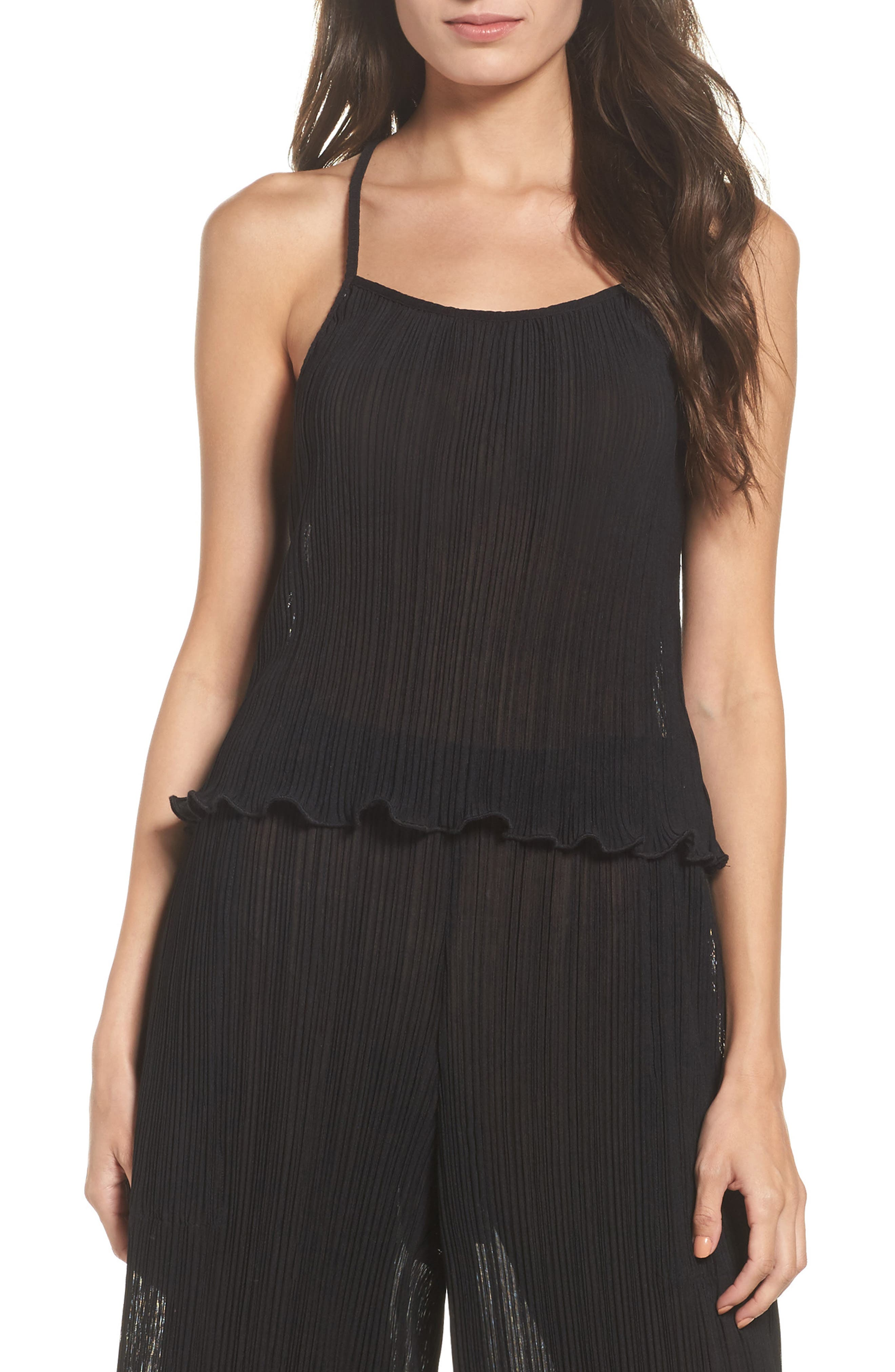 Pleated Tank,                         Main,                         color, 009