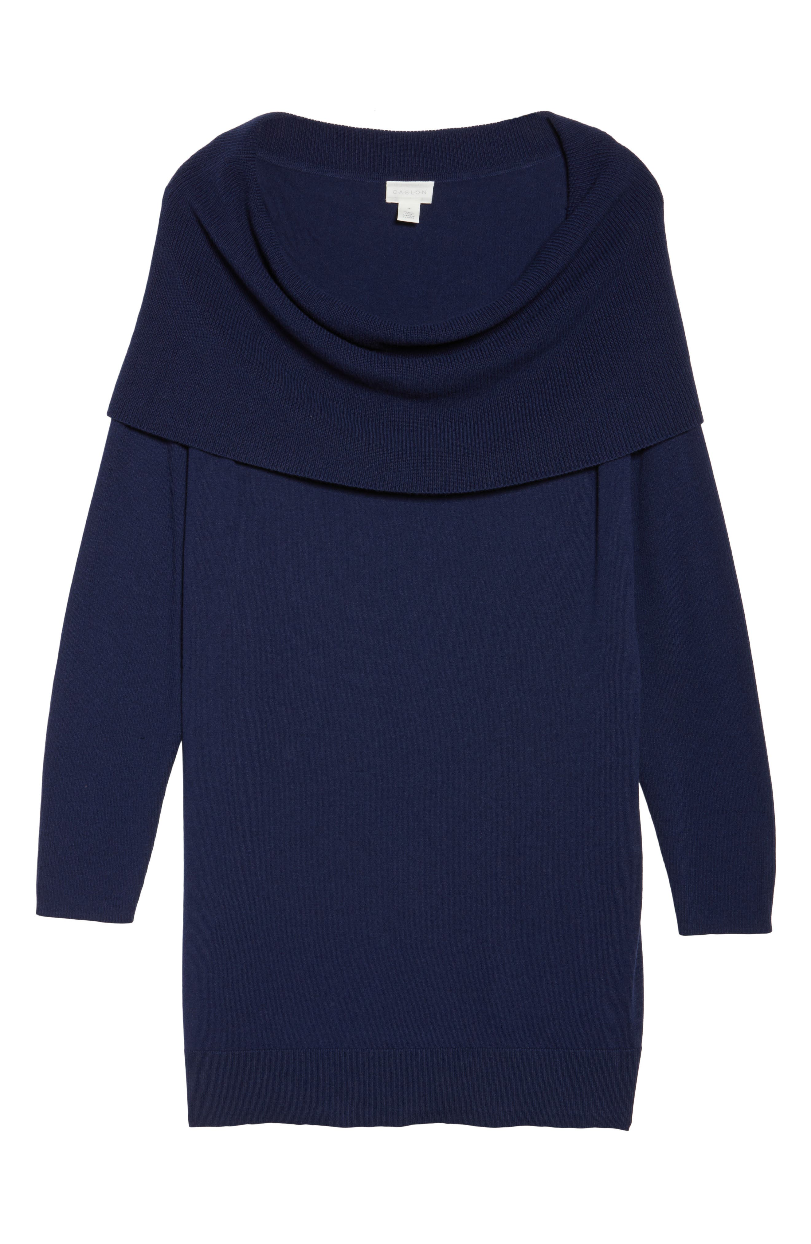 Cowl Neck Tunic Sweater,                             Alternate thumbnail 47, color,