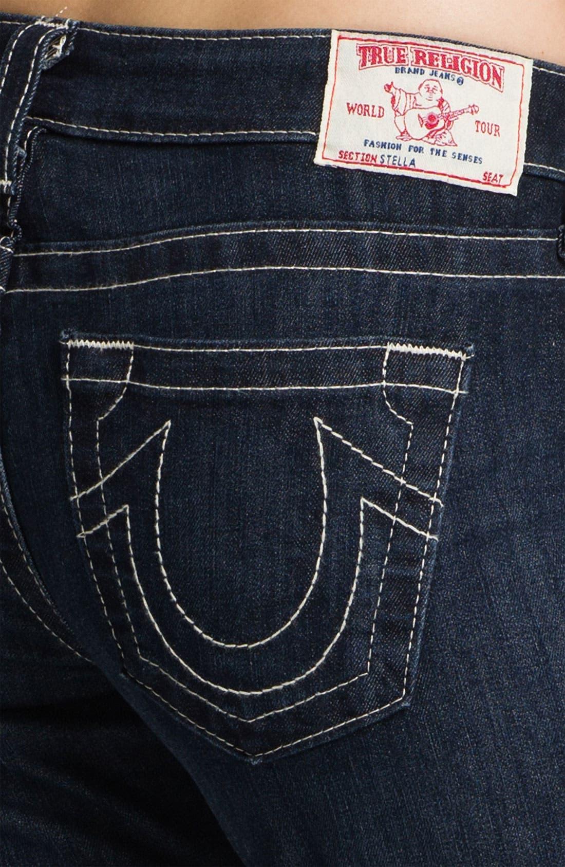 'Stella' Skinny Jeans,                             Alternate thumbnail 4, color,                             475