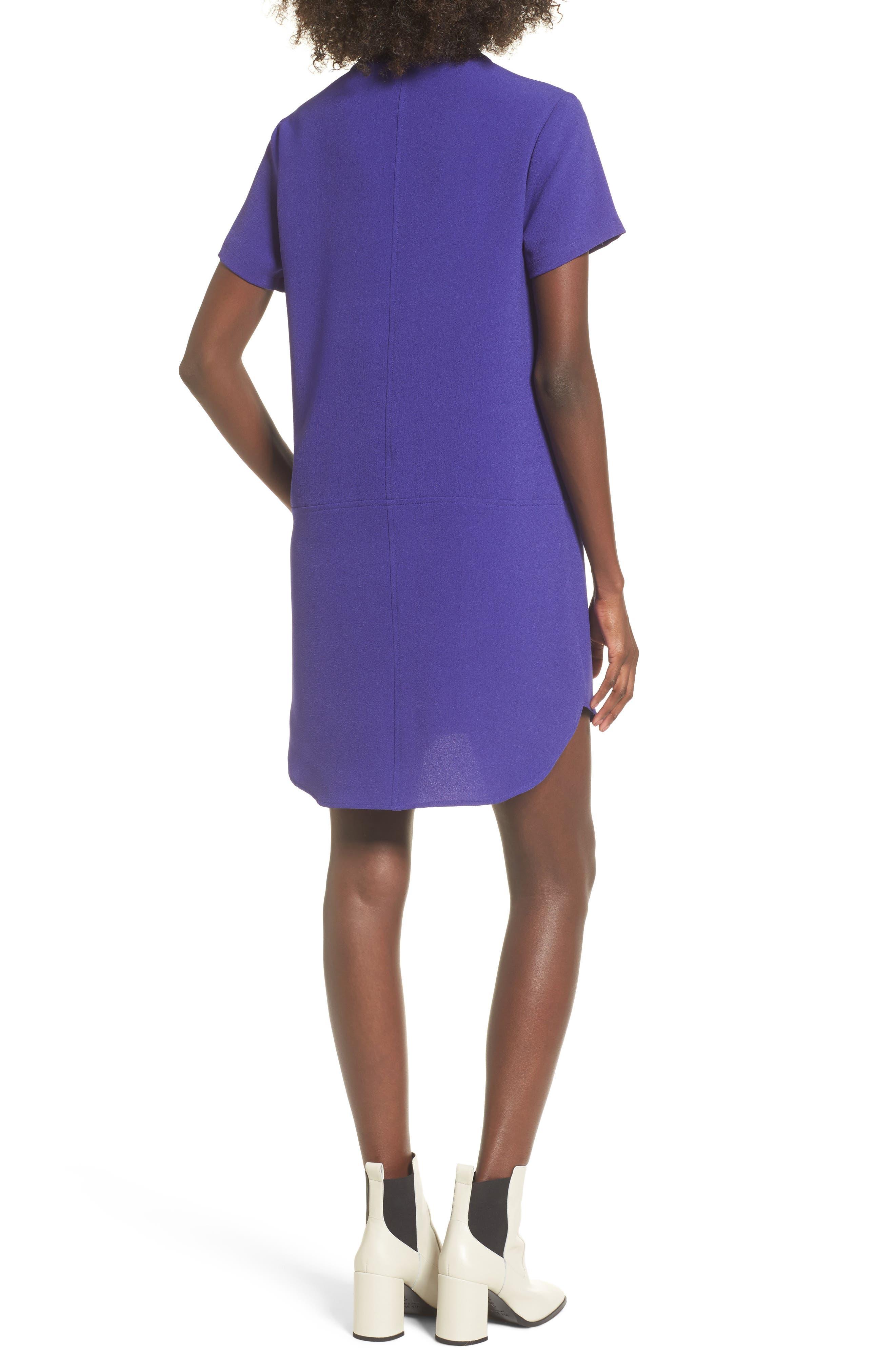 Hailey Crepe Dress,                             Alternate thumbnail 38, color,