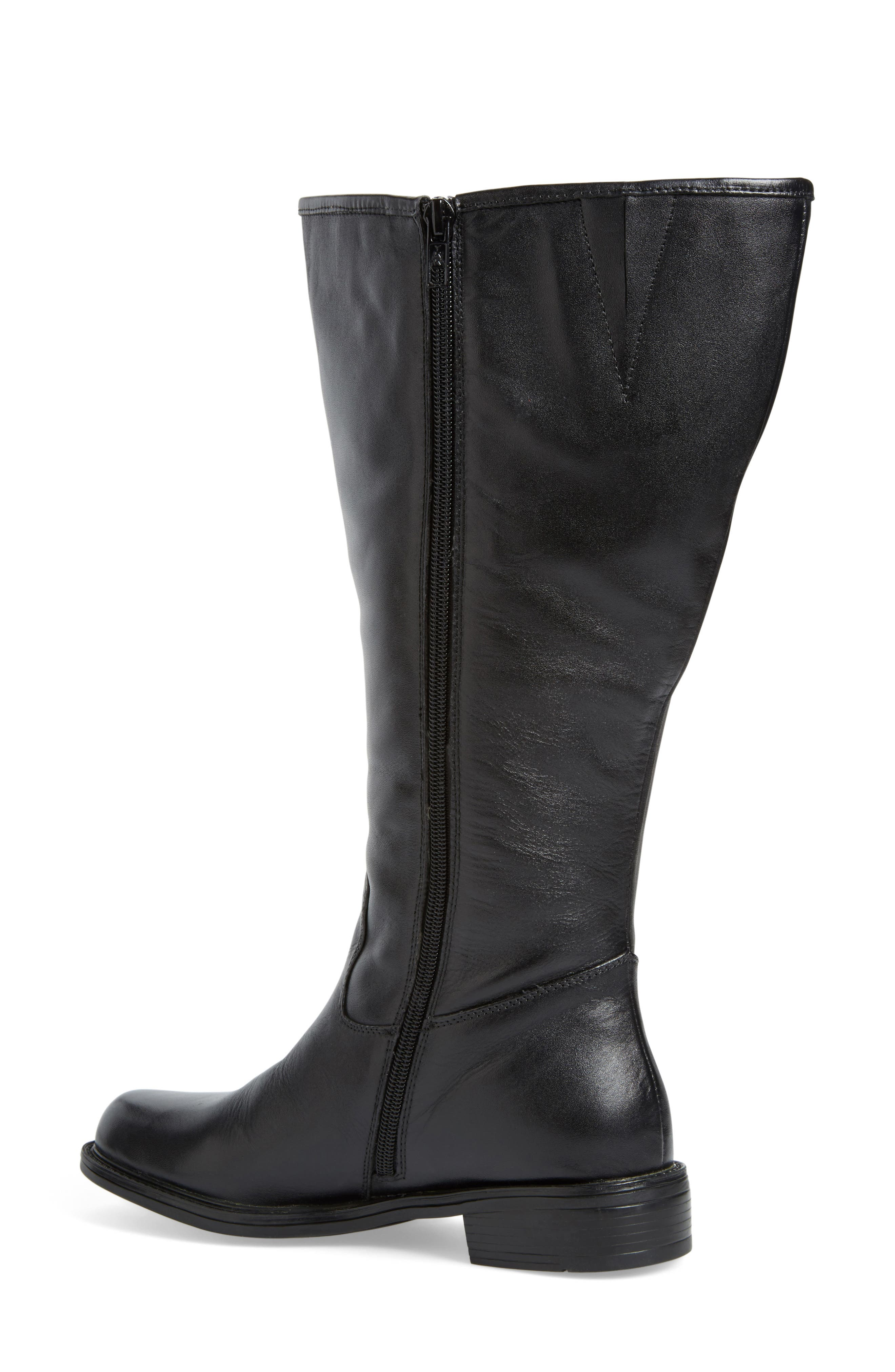 'Best' Calfskin Leather & Suede Boot,                             Alternate thumbnail 15, color,