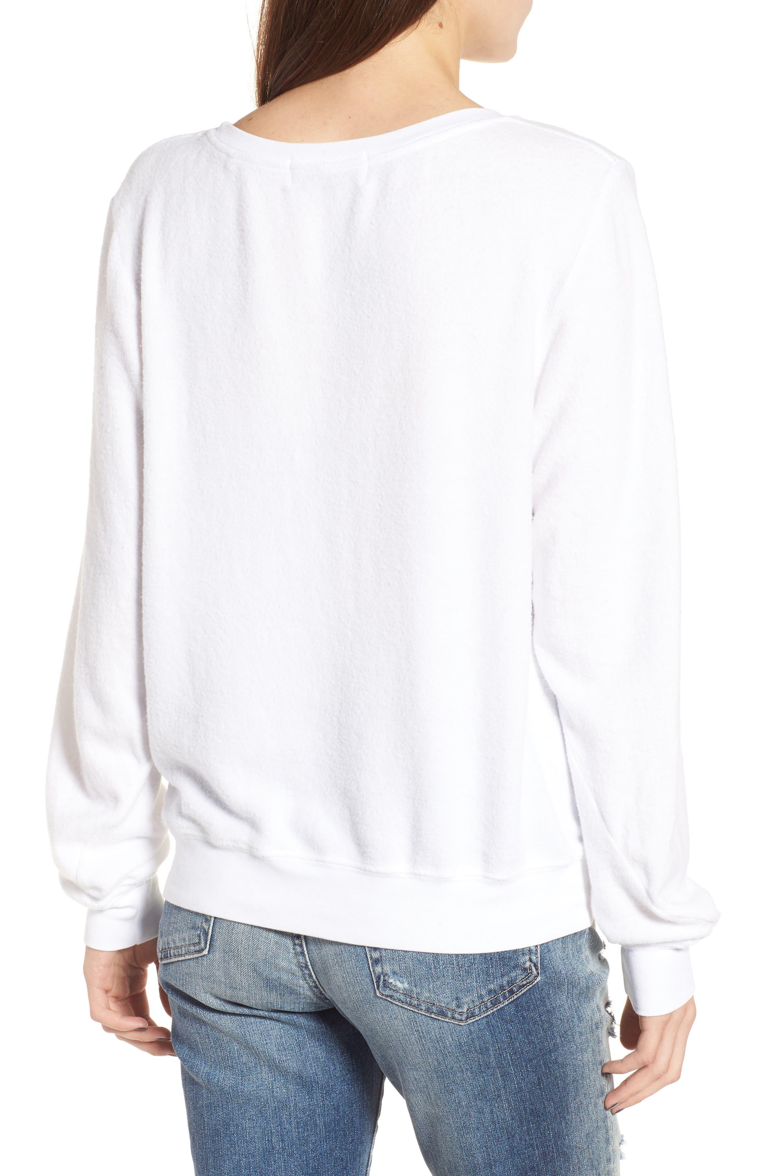 Beverly Hills Sweatshirt,                             Alternate thumbnail 2, color,                             100