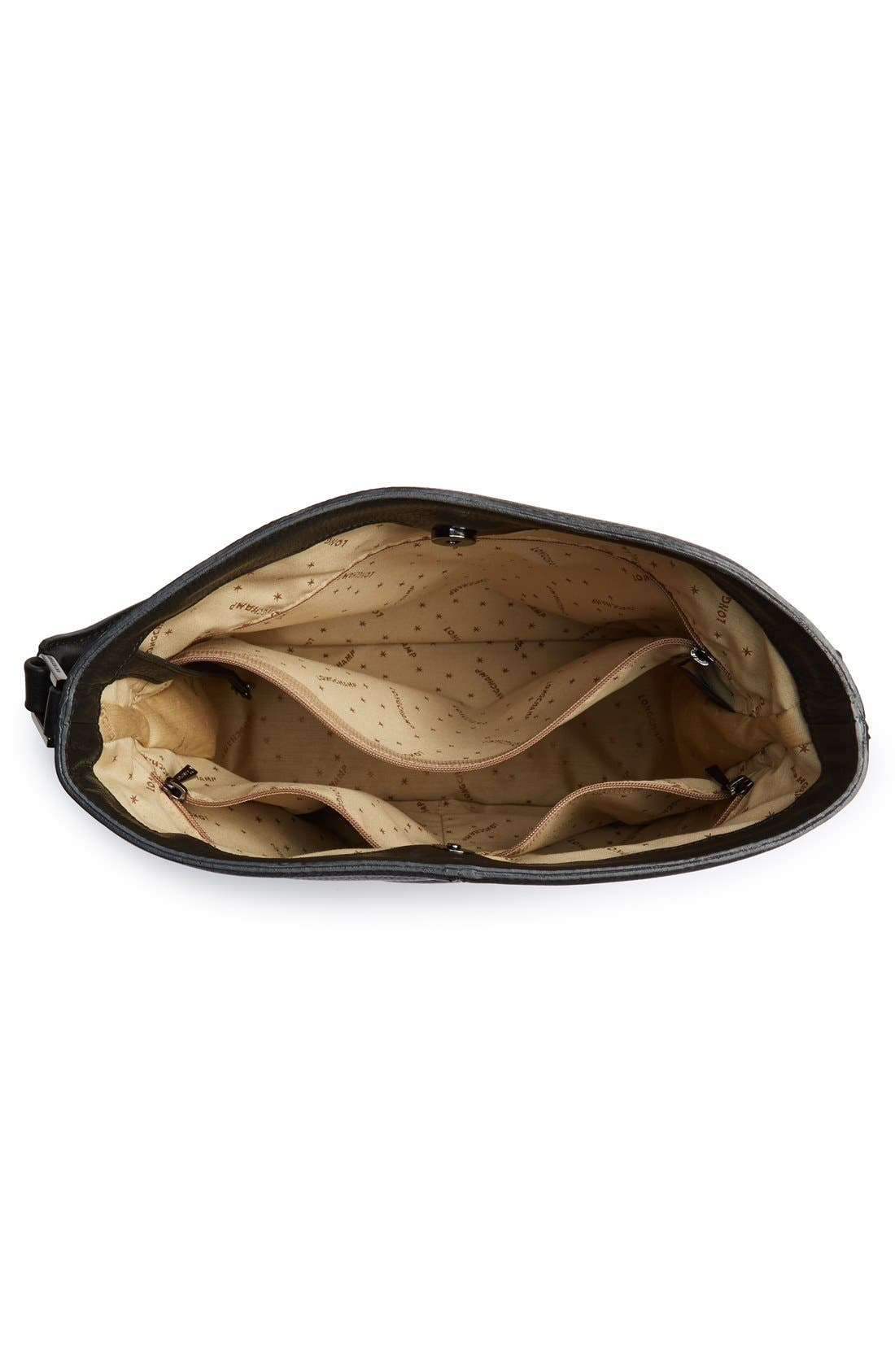 'Mystery' Leather Hobo,                             Alternate thumbnail 11, color,