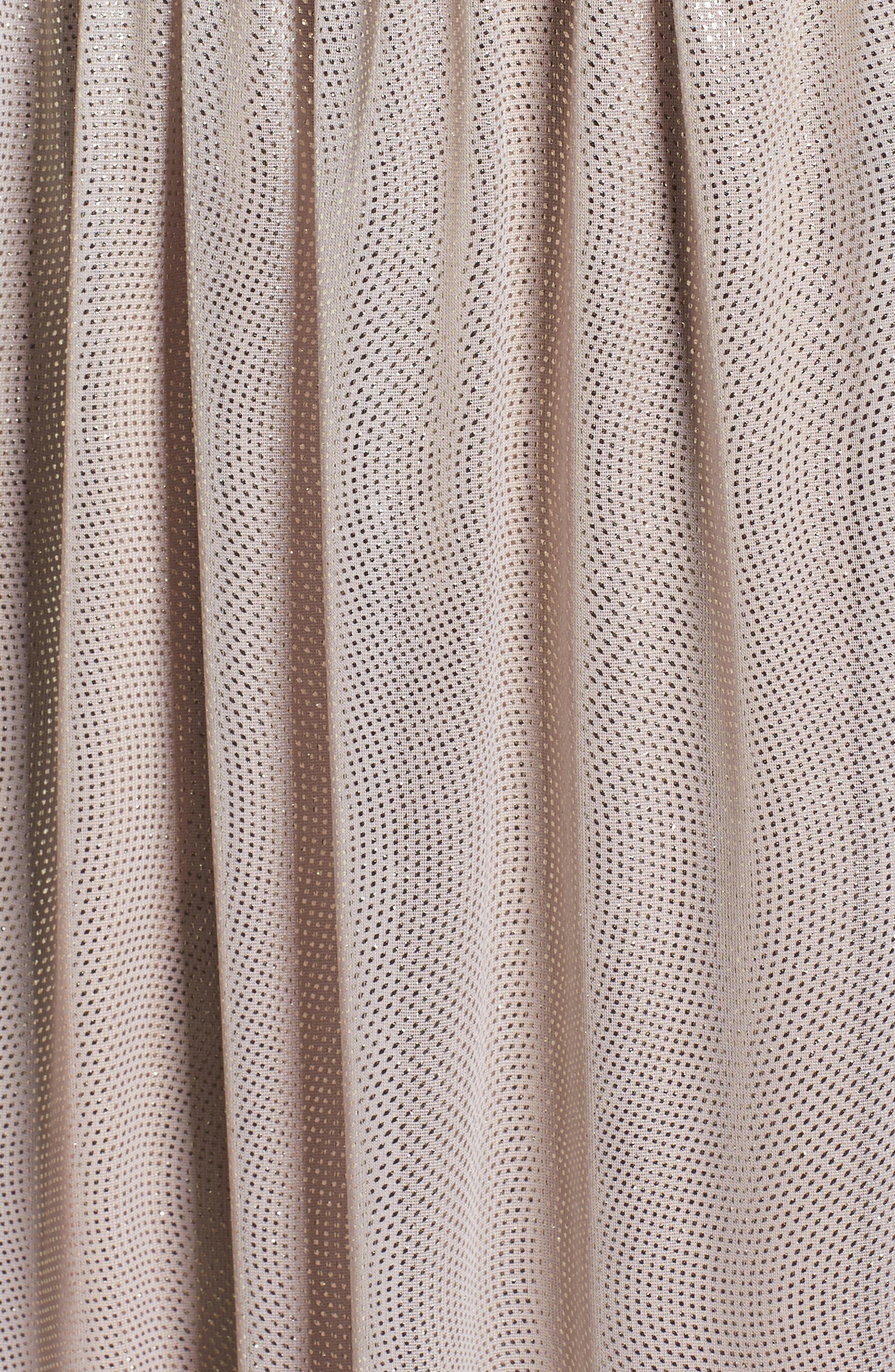 Metallic Gown,                             Alternate thumbnail 5, color,                             710