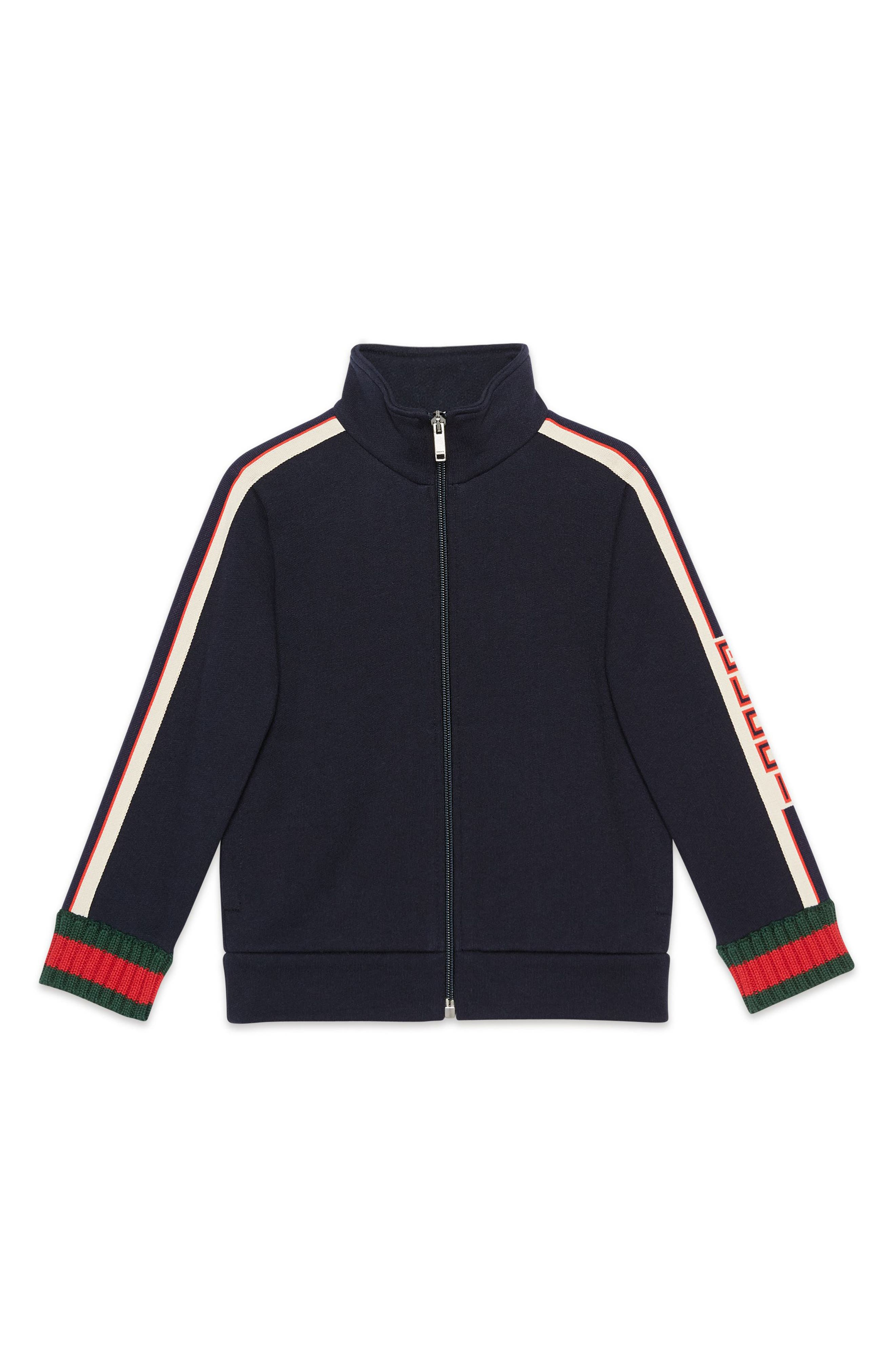 Logo Track Jacket,                         Main,                         color, PERIWINKLE MULTI