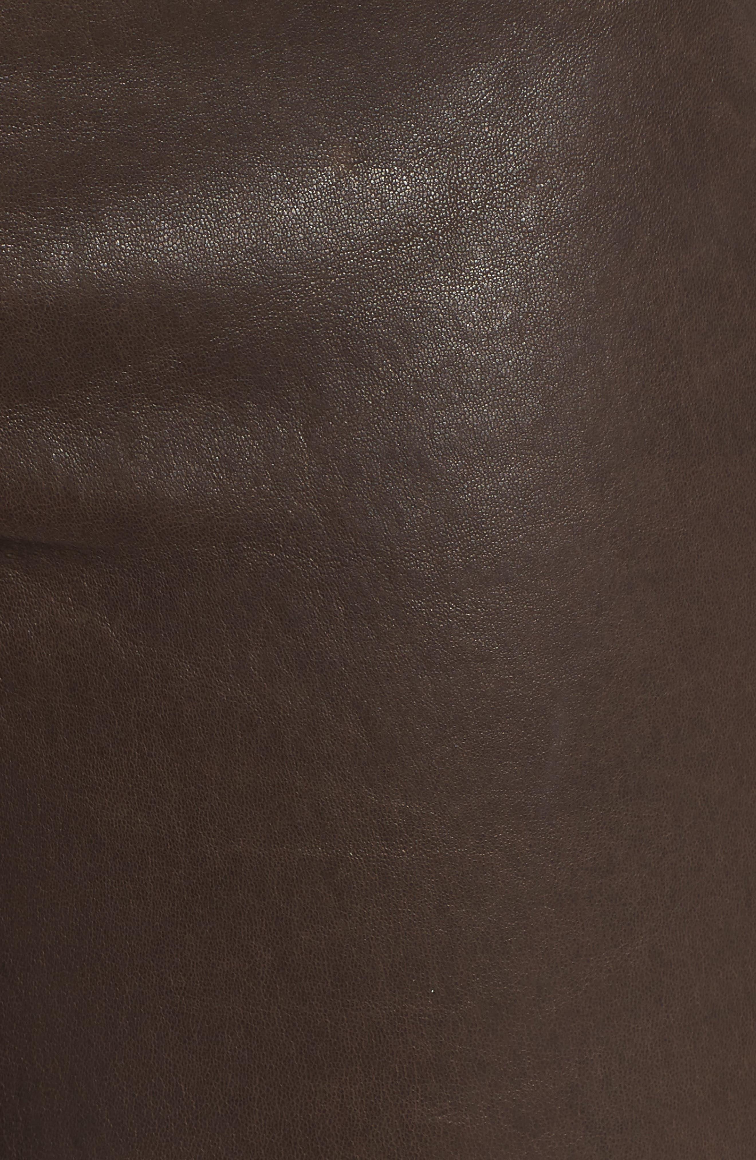 '8001' Lambskin Leather Pants,                             Alternate thumbnail 76, color,