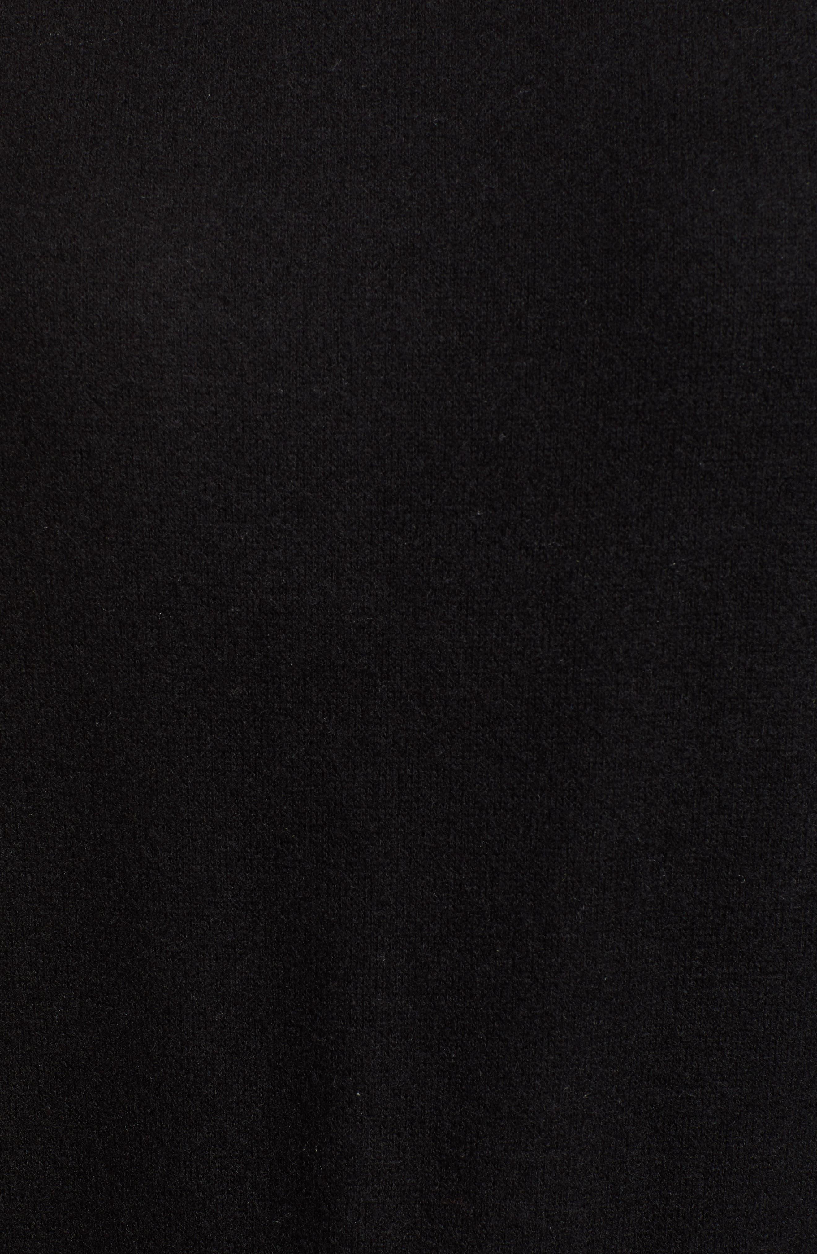 Darwin Cozy Sweatshirt,                             Alternate thumbnail 5, color,                             BLACK