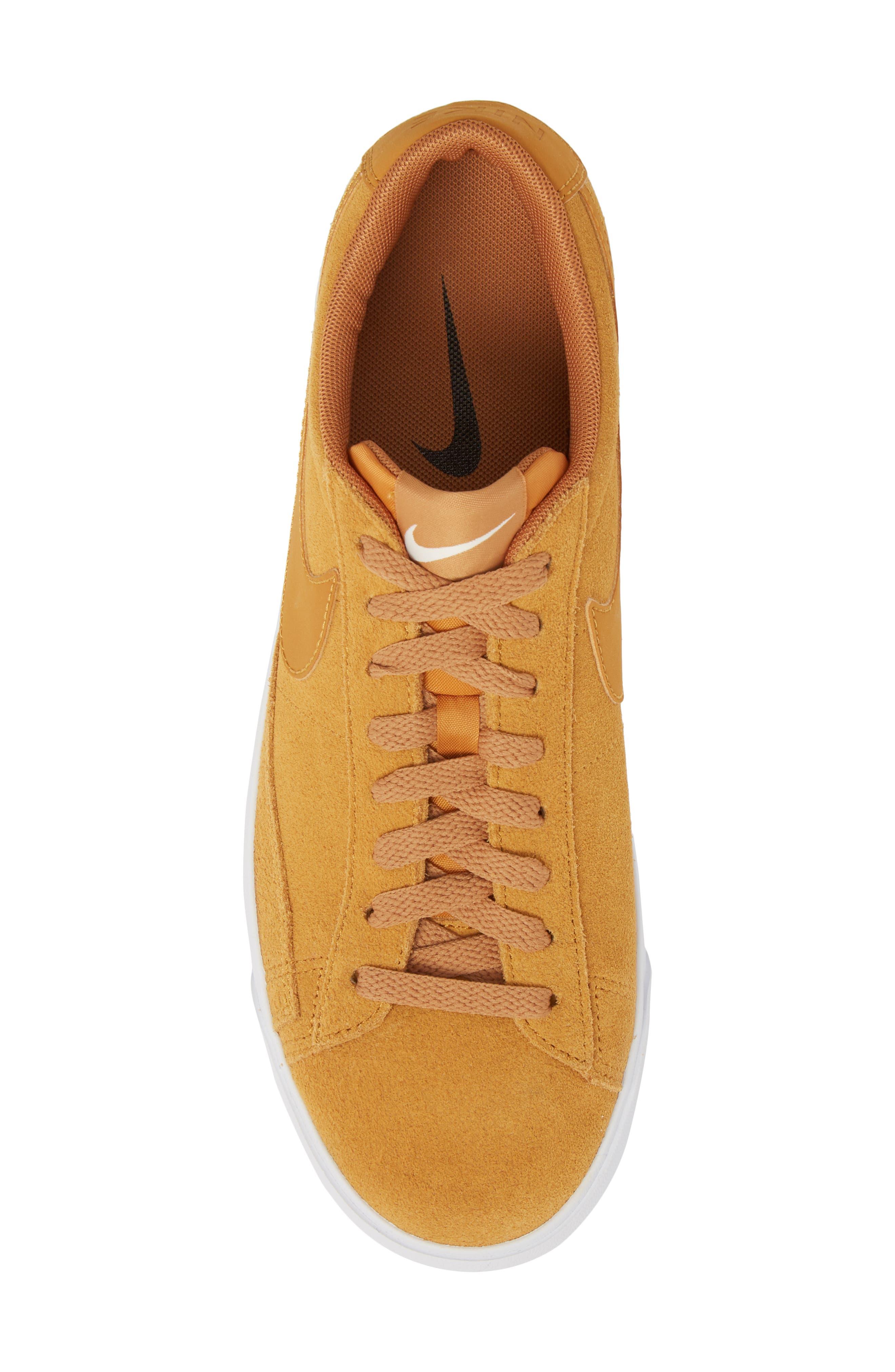 Blazer Low Suede Sneaker,                             Alternate thumbnail 5, color,                             260