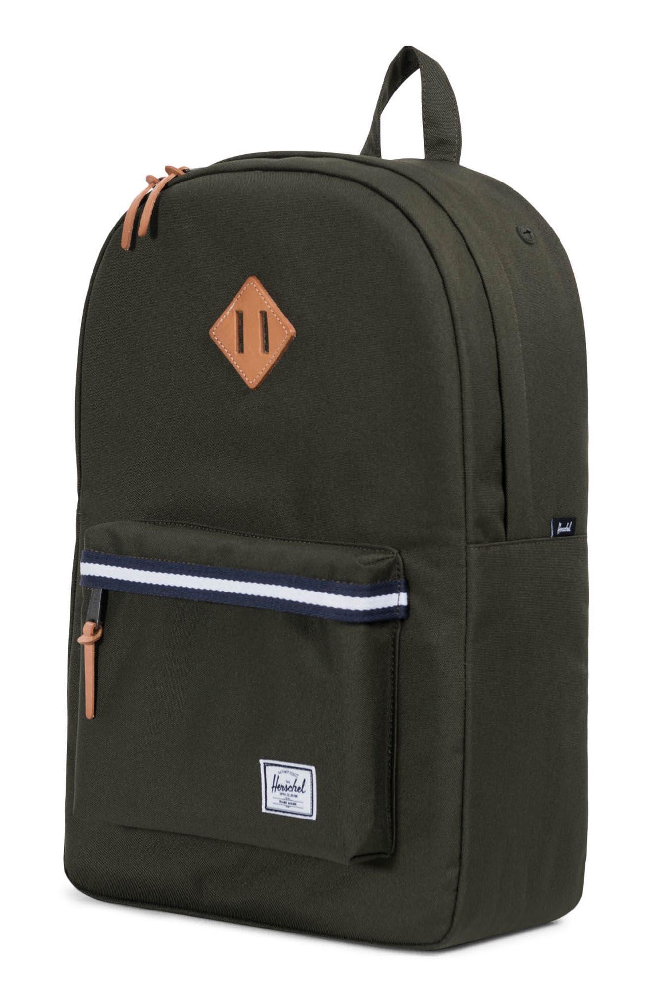 Heritage Offset Stripe Backpack,                             Alternate thumbnail 14, color,