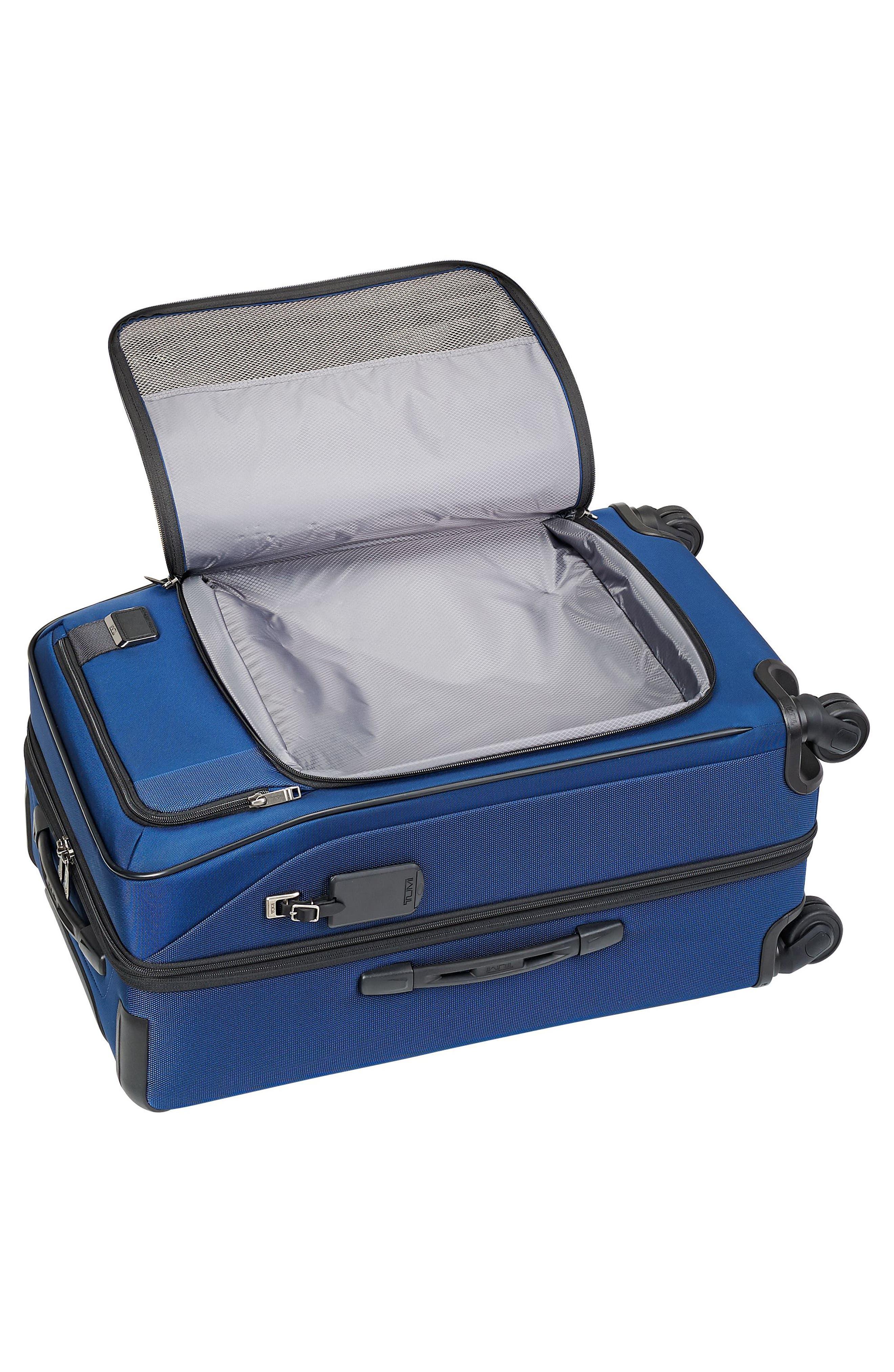 Merge - Short Trip Expandable Rolling Suitcase,                             Alternate thumbnail 5, color,                             OCEAN BLUE