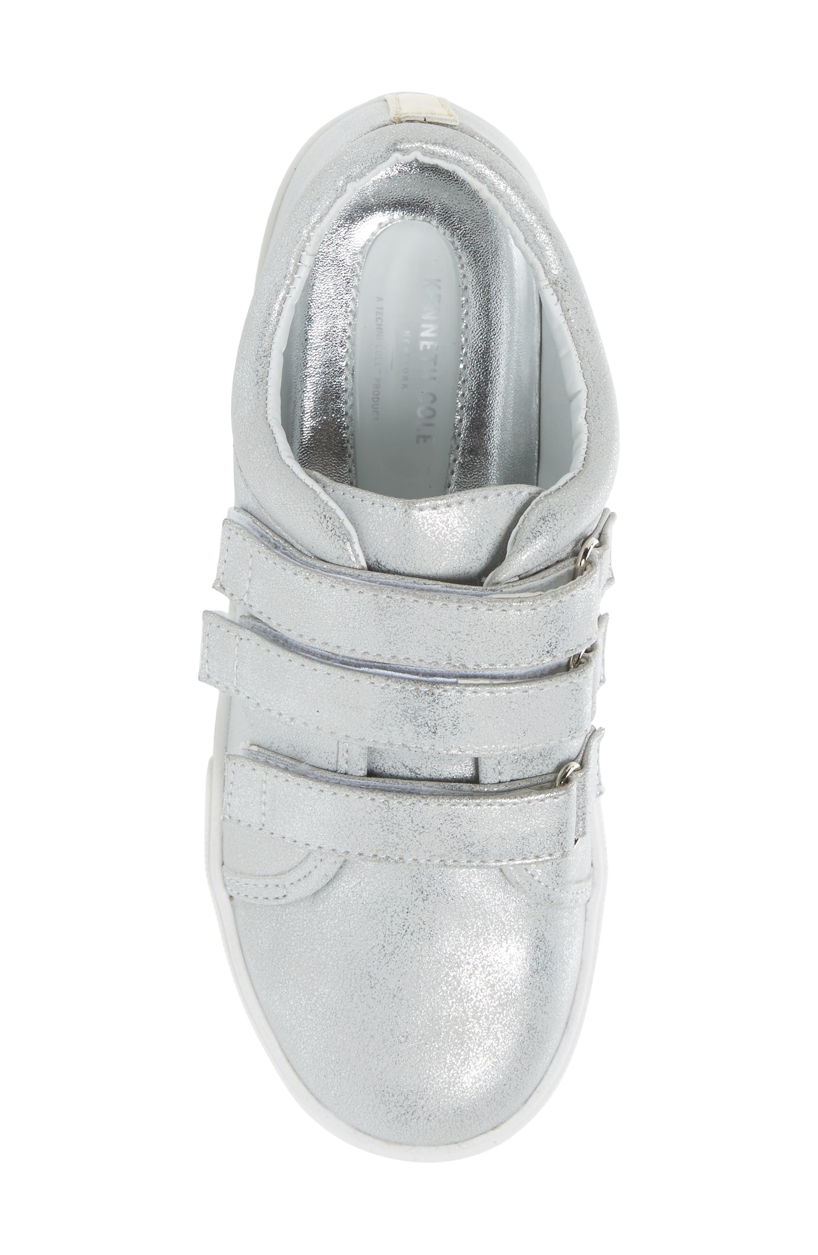 Kam Glitter Strap Sneaker,                             Alternate thumbnail 5, color,                             040