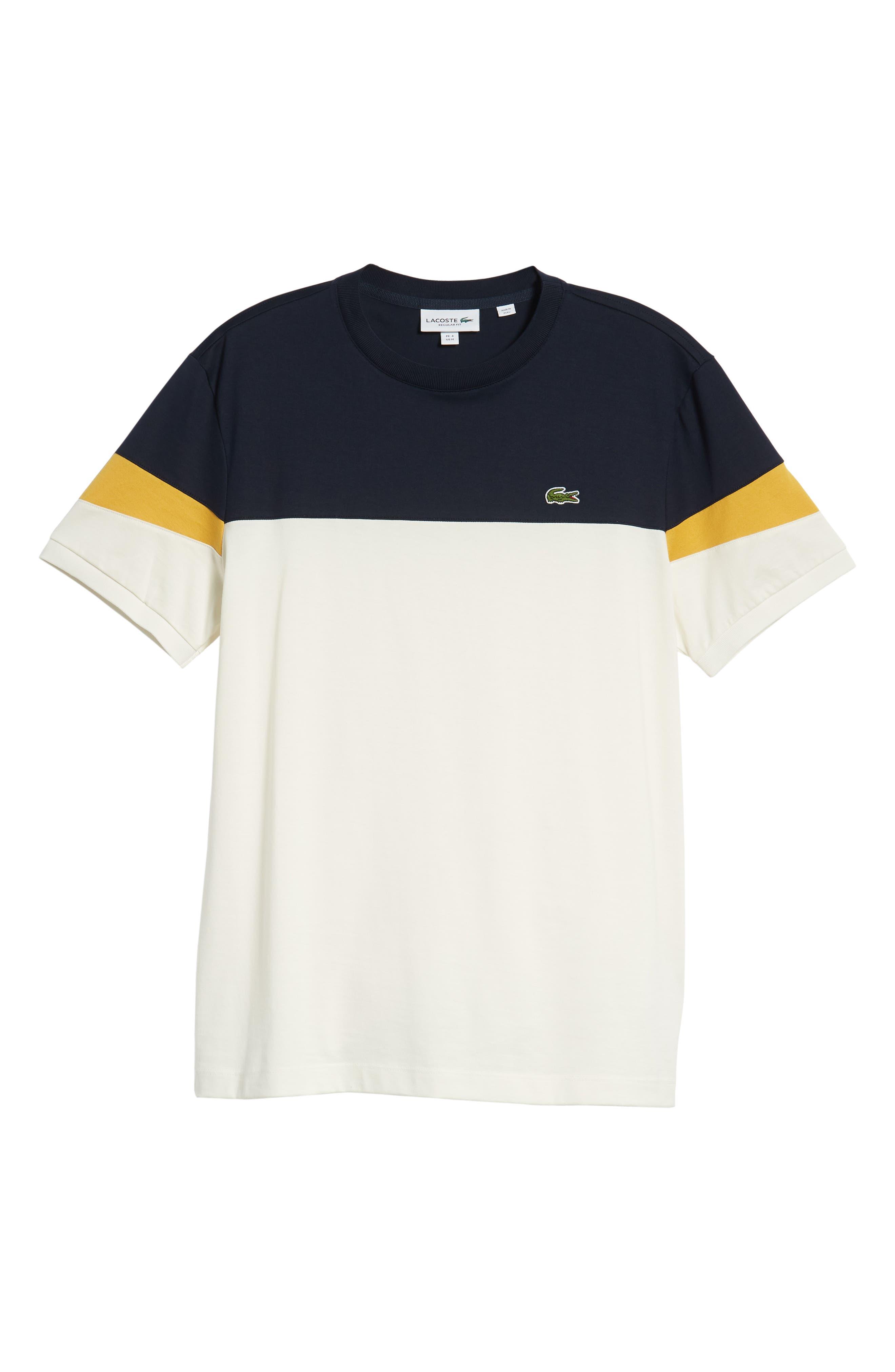 Colorblock T-Shirt,                             Alternate thumbnail 6, color,                             262