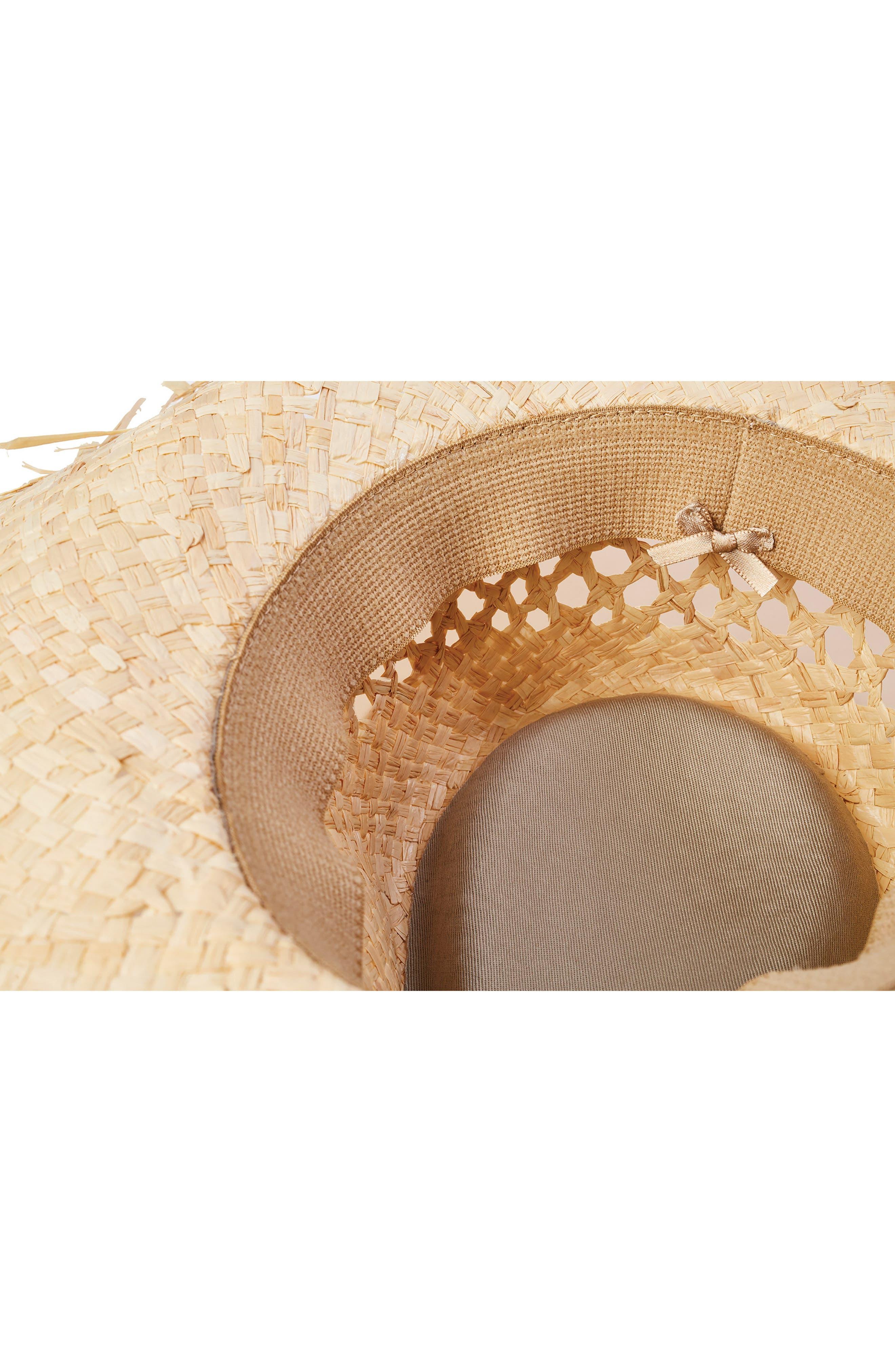 Joanna Fringe Hat,                             Alternate thumbnail 2, color,                             200