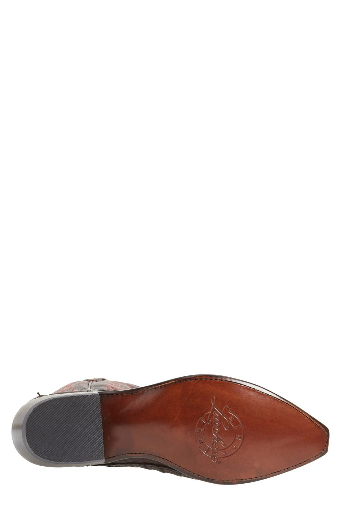 LUCCHESE,                             'Landon' Western Boot,                             Alternate thumbnail 2, color,                             214
