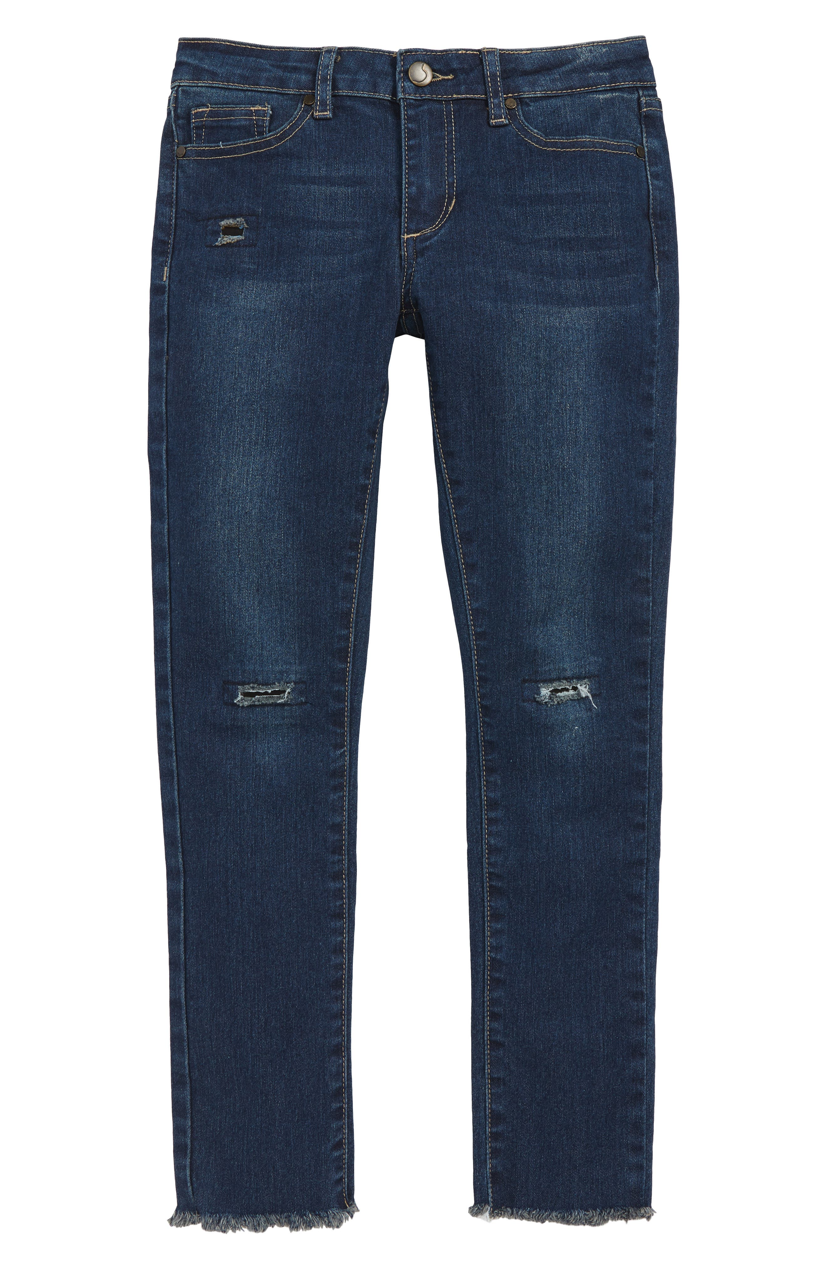 The Markie Skinny Ankle Jeans,                             Main thumbnail 1, color,                             400