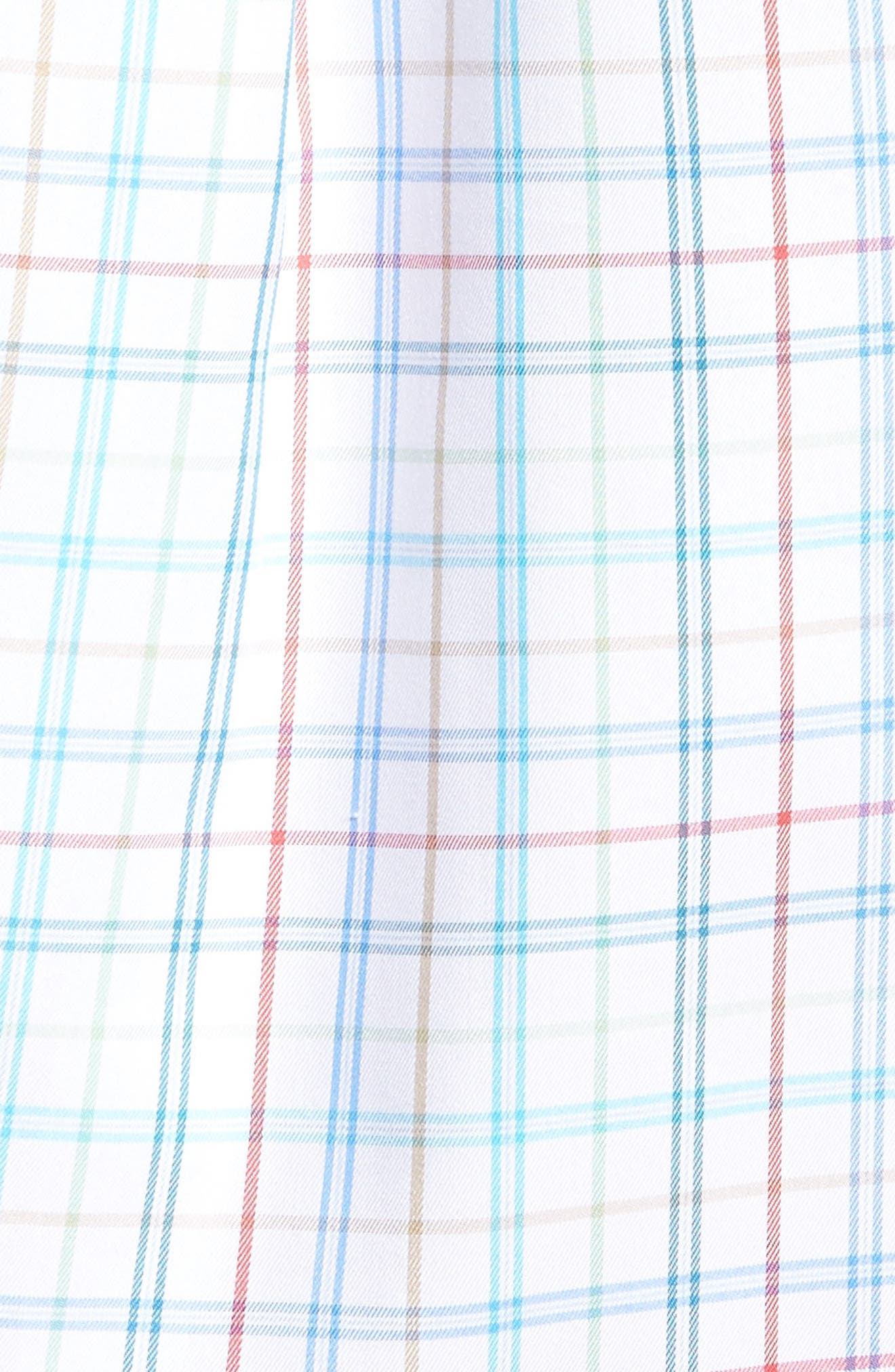 Classic Fit Crown Soft Honolulu Pinwheel Sport Shirt,                             Alternate thumbnail 5, color,                             497