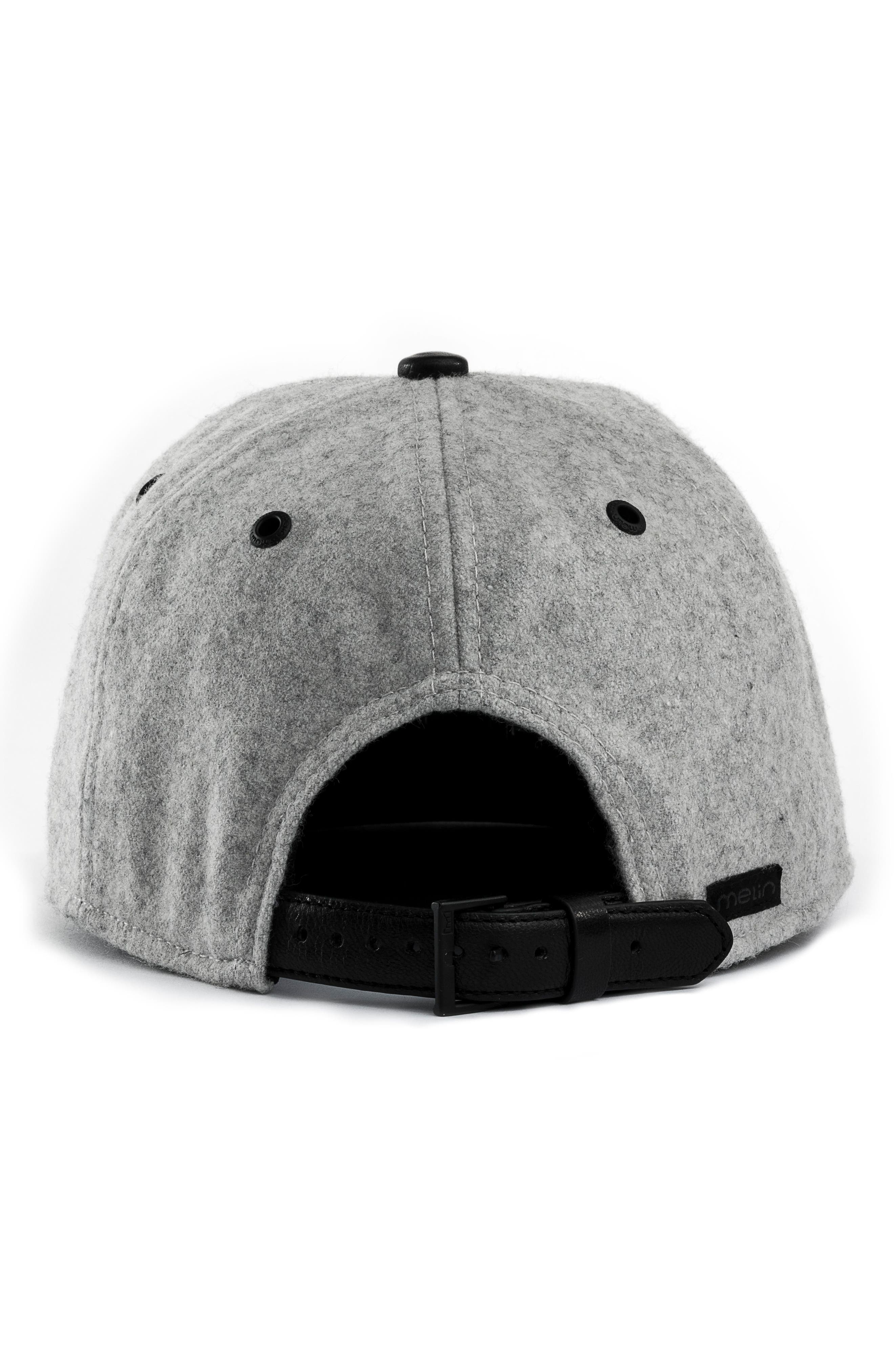 MELIN,                             Mini Bar Deluxe Baseball Cap,                             Alternate thumbnail 3, color,                             LIGHT HEATHER GREY
