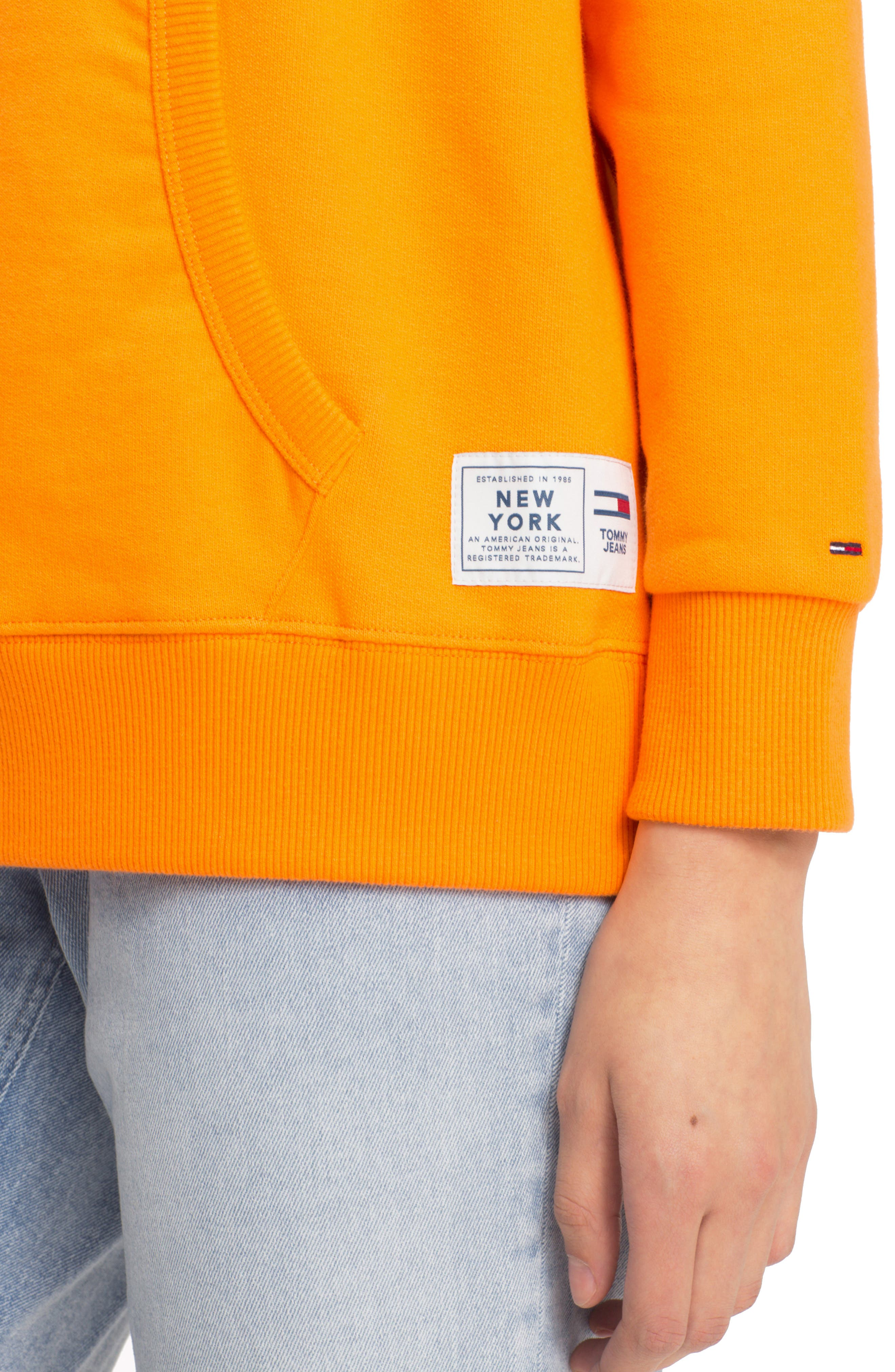 TJW Embroidered Logo Hoodie,                             Alternate thumbnail 3, color,                             803