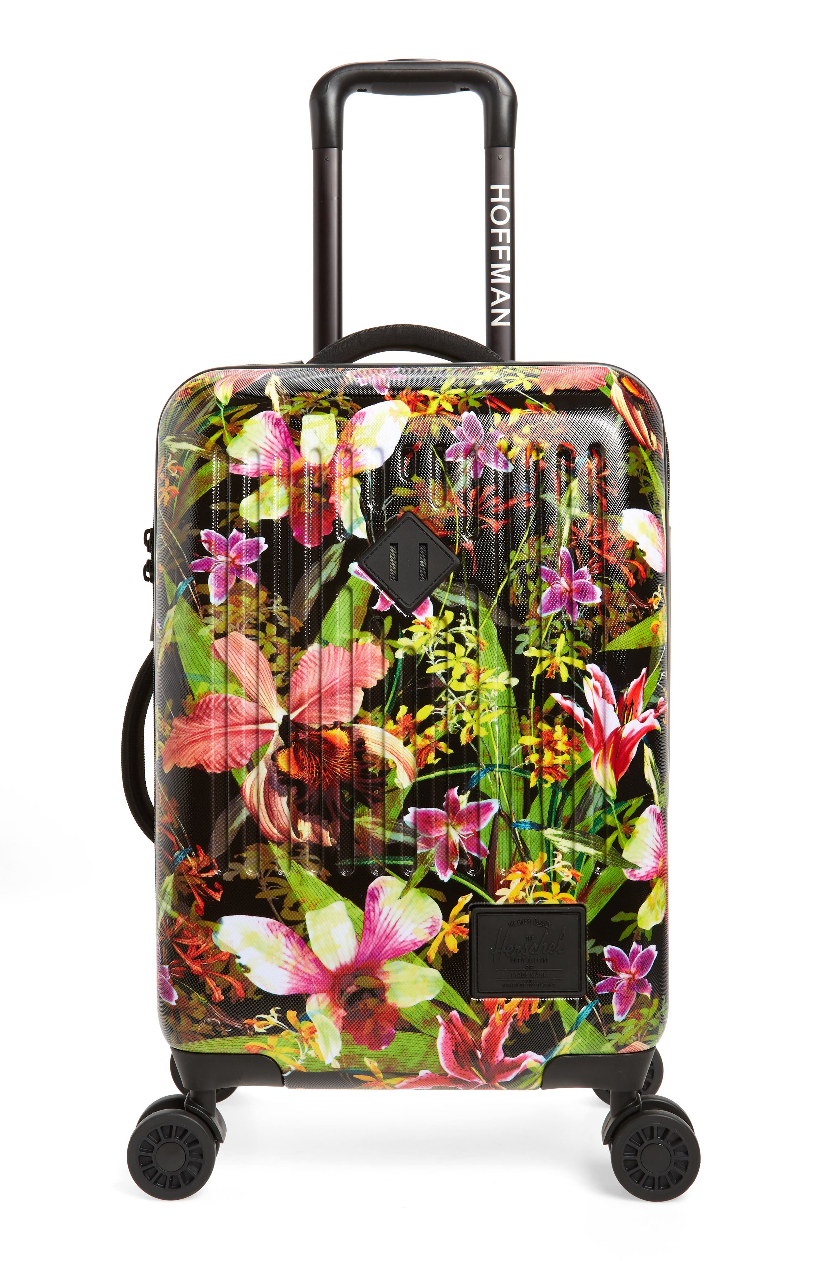 Small Trade 23-Inch Rolling Suitcase,                             Main thumbnail 1, color,                             JUNGLE HOFFMAN