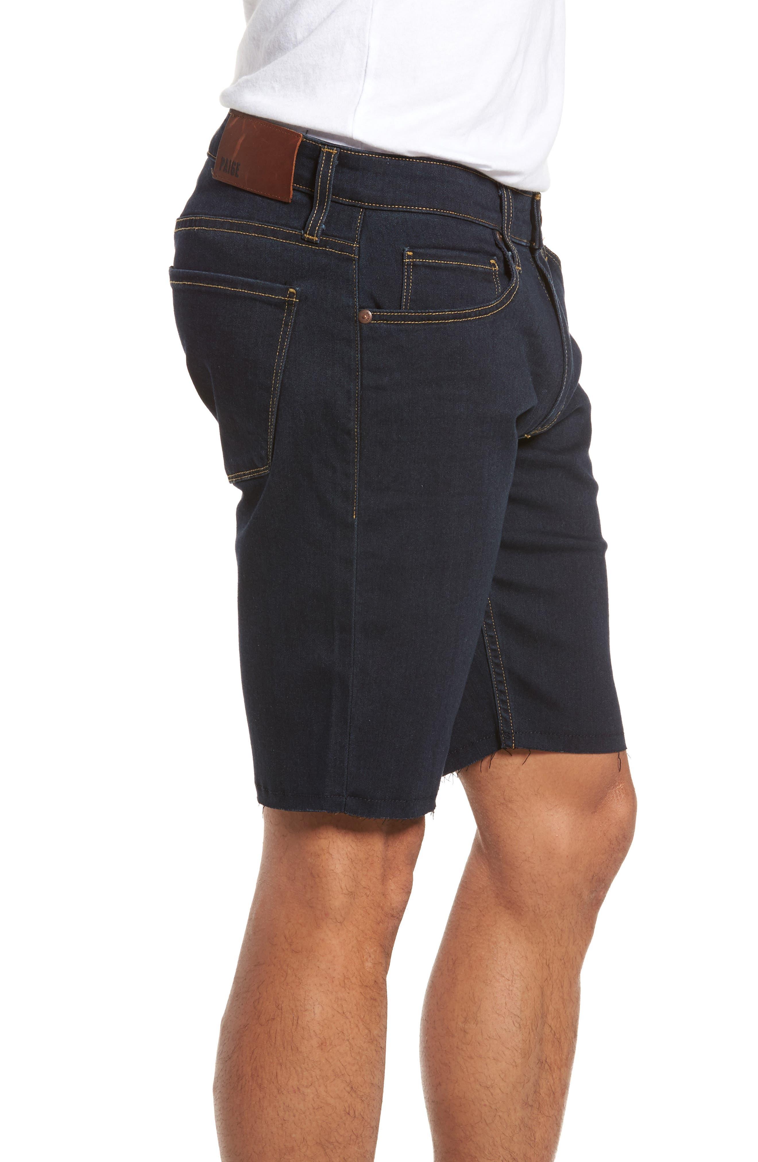 Transcend - Federal Slim Straight Leg Denim Shorts,                             Alternate thumbnail 3, color,                             400