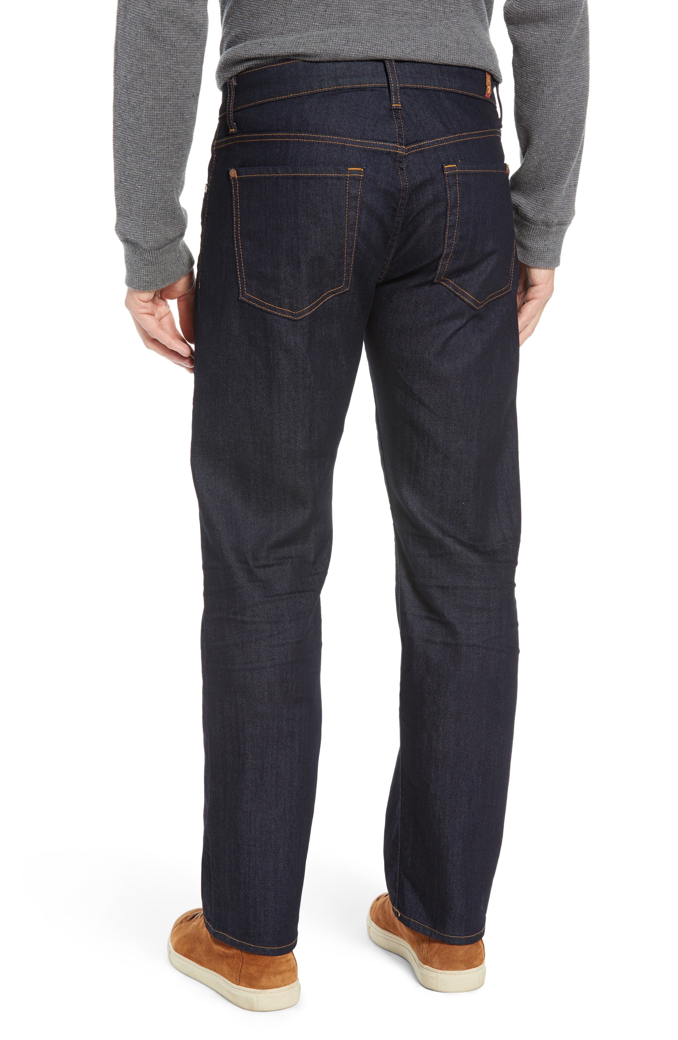 Austyn Airweft Relaxed Straight Leg Jeans,                             Alternate thumbnail 2, color,                             CAVEAT